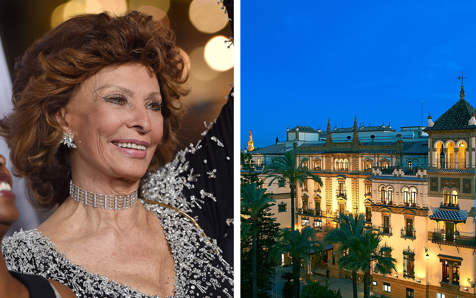 Hotels for Celebrity Sightings: Hotel Alfonso XIII, Seville, Spain