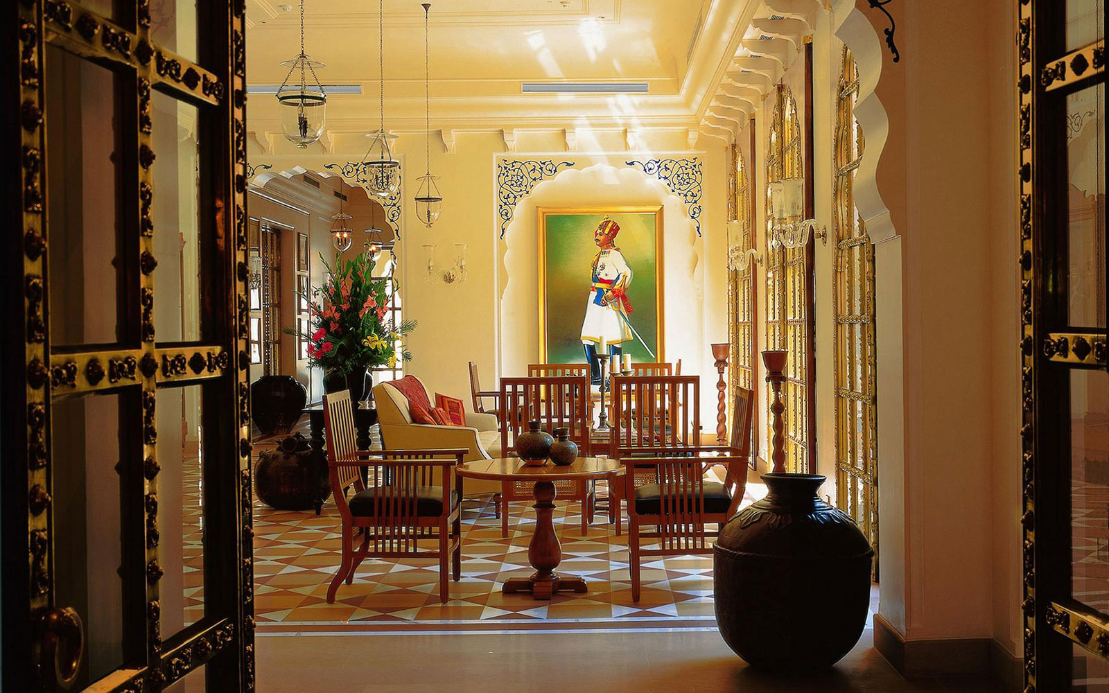 World's Top 50 Hotels: The Oberoi Rajvilas, Jaipur, Rajasthan, India