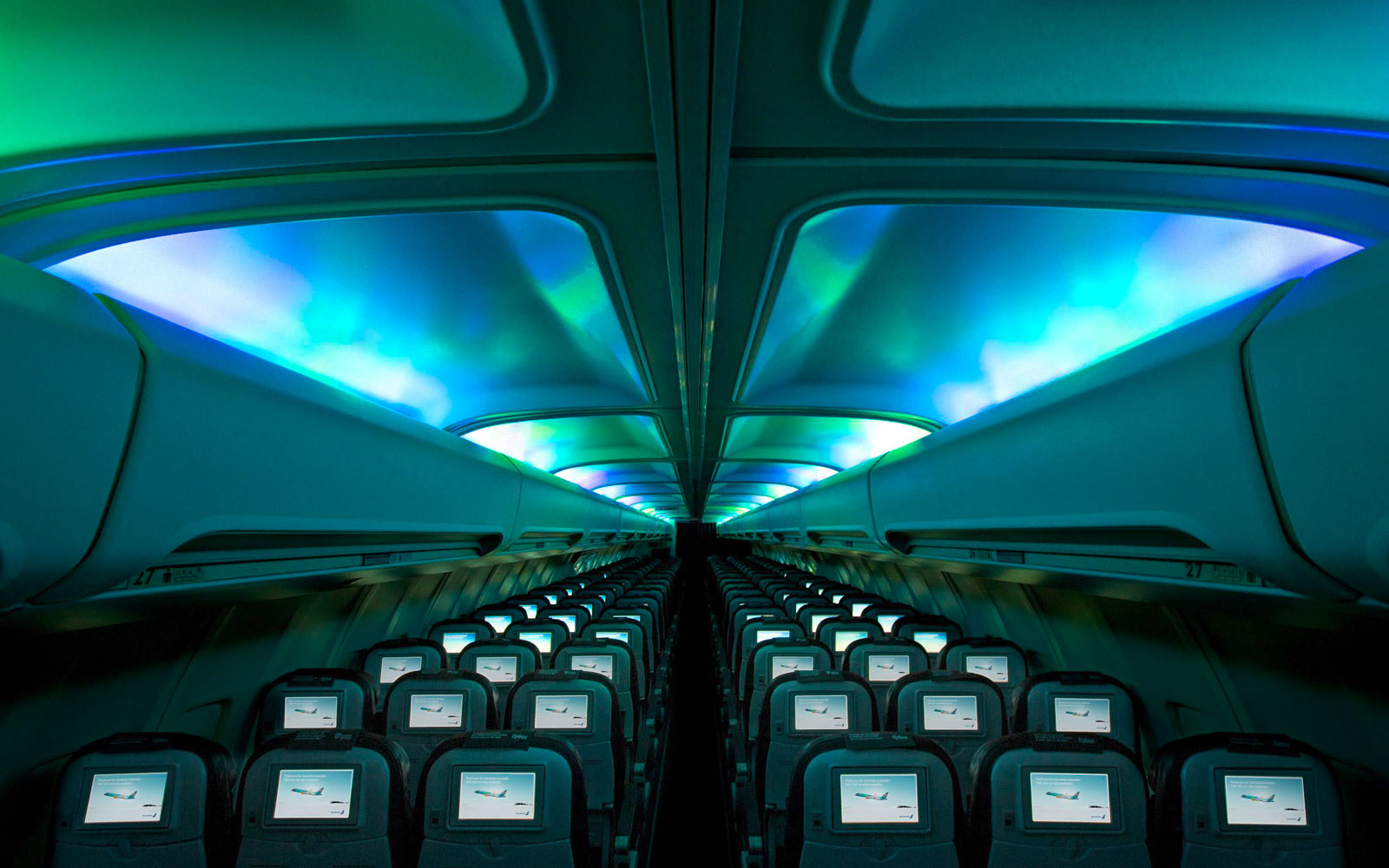 The 13 Best Aircraft Cabin Innovations Ever: Cabin Lighting and Environmental Controls