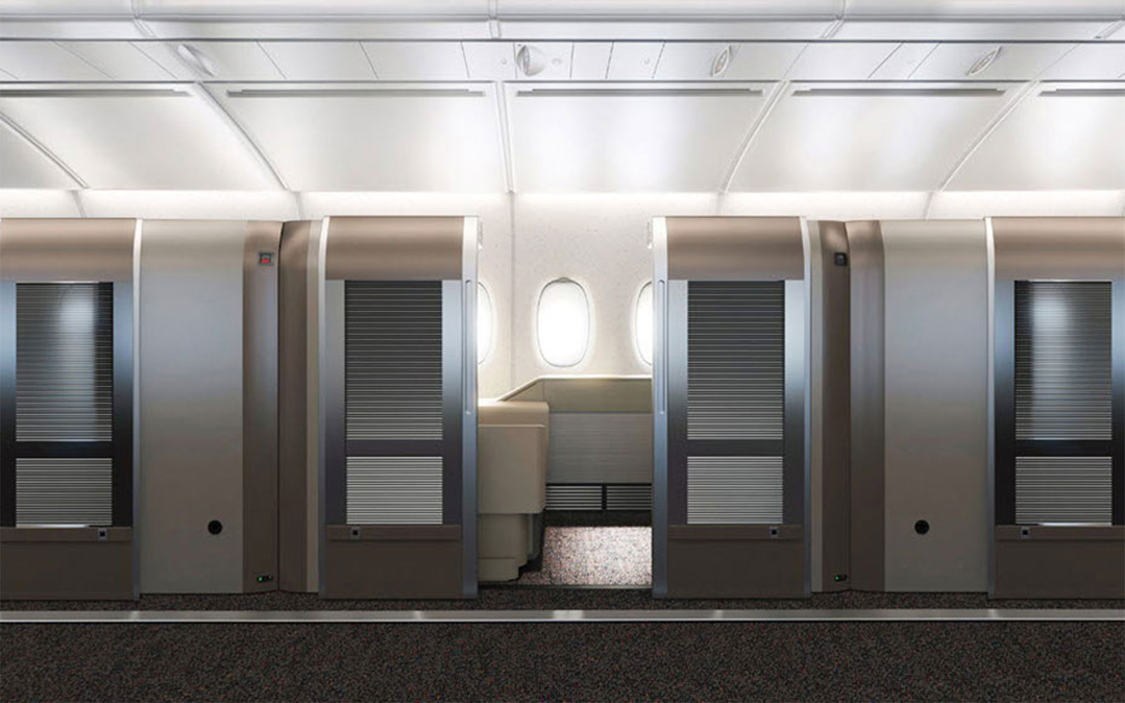 The 13 Best Aircraft Cabin Innovations Ever: The Private Cabin