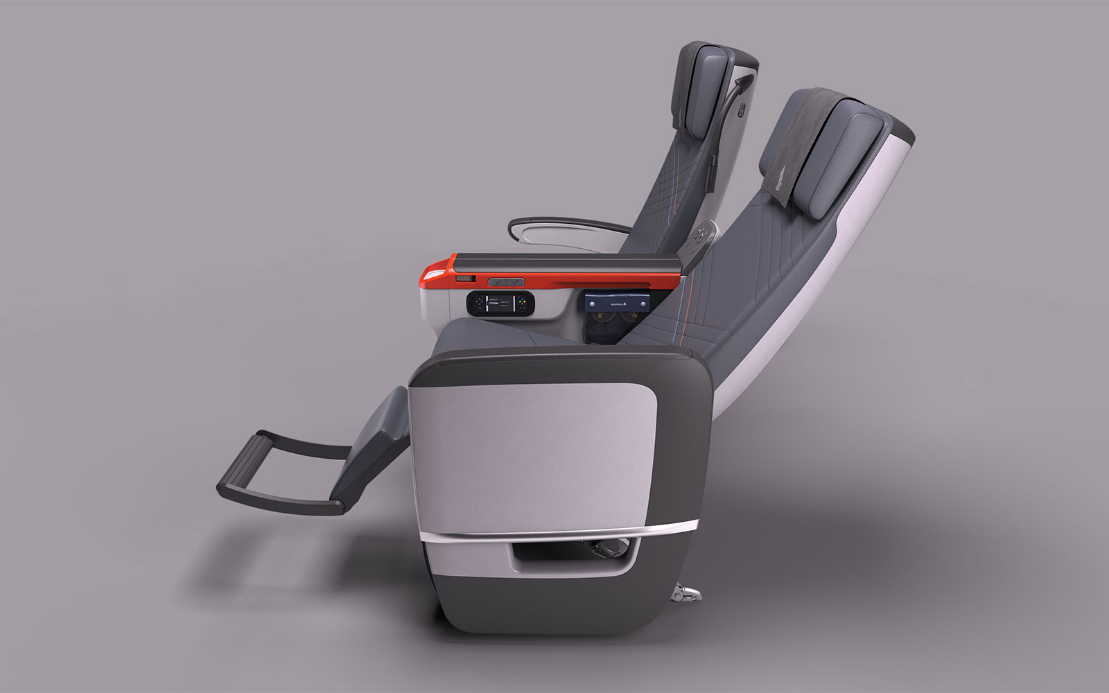 The 13 Best Aircraft Cabin Innovations Ever: Reclining Sofa Seats and Leg Rests