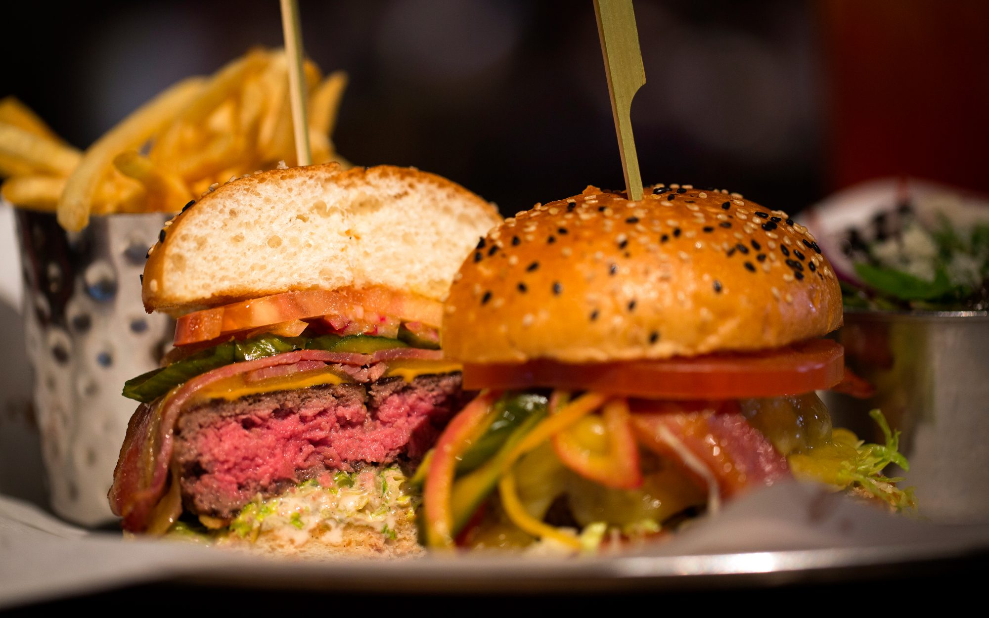 The Burger ($20) at Burger & Lobster