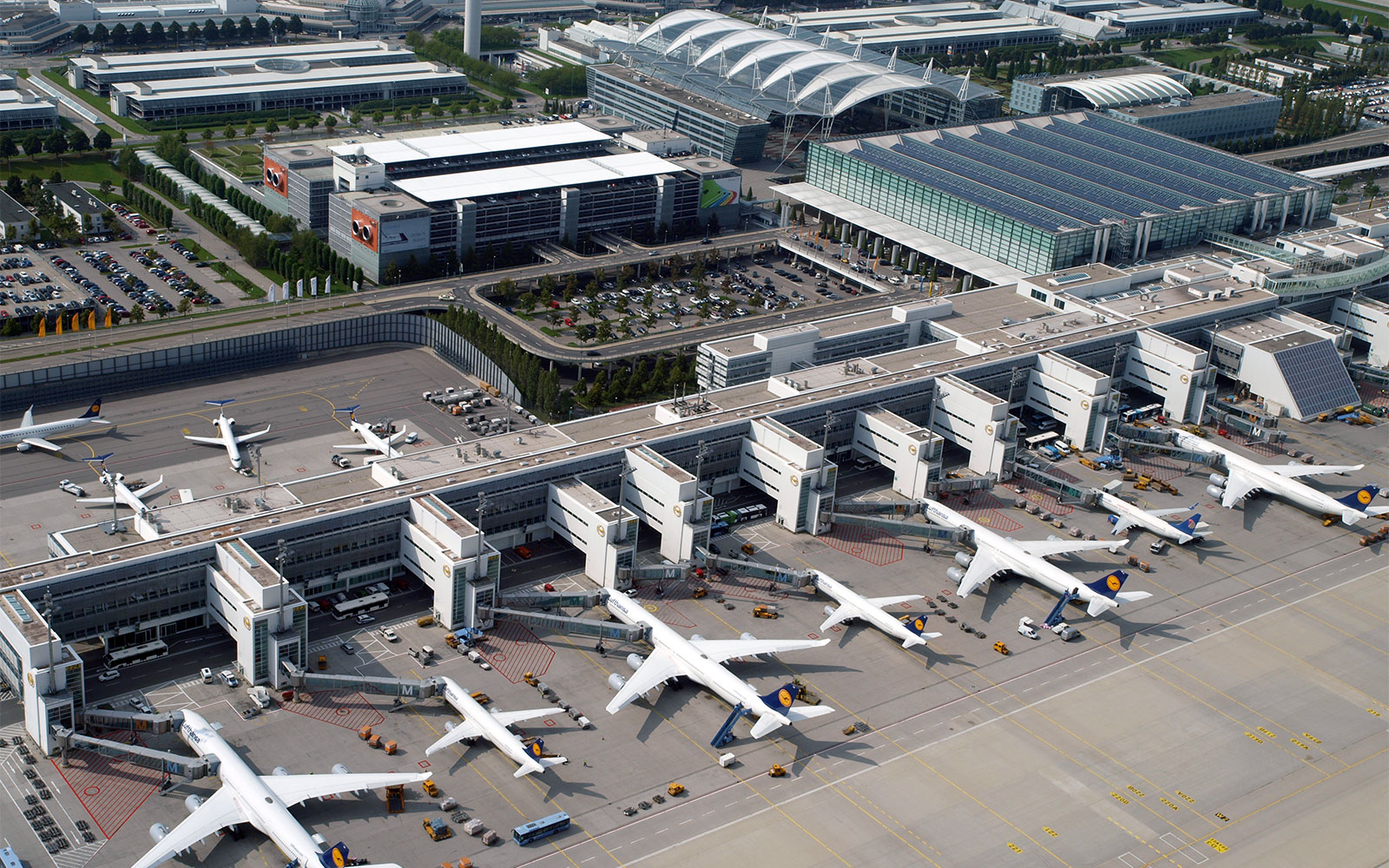 World's Best Airports: International: Munich Airport Germany