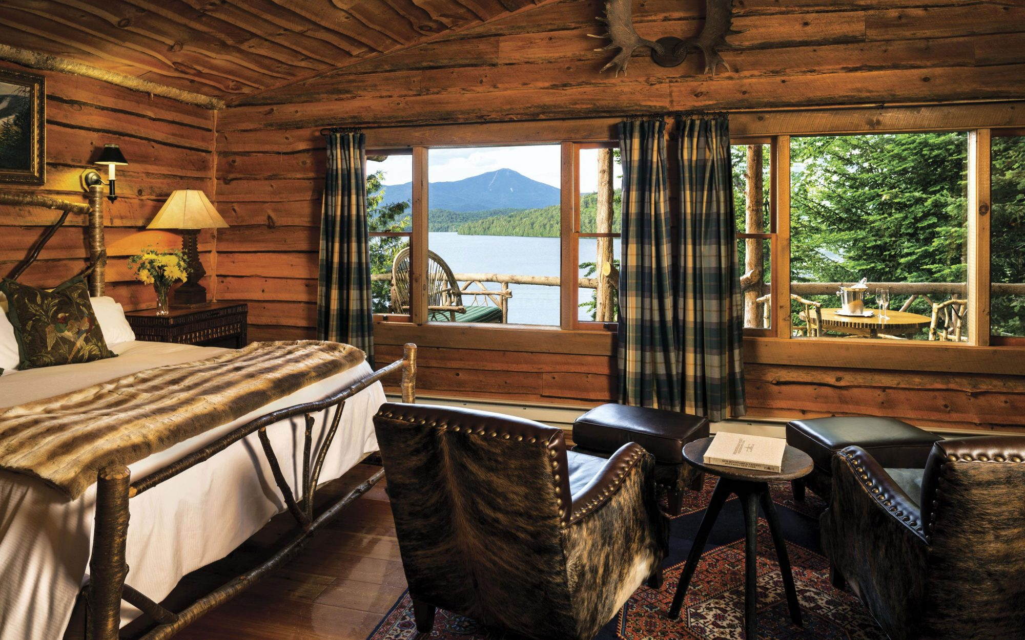 Best Hotels in the U.S.: Lake Placid Lodge, Lake Placid, New York