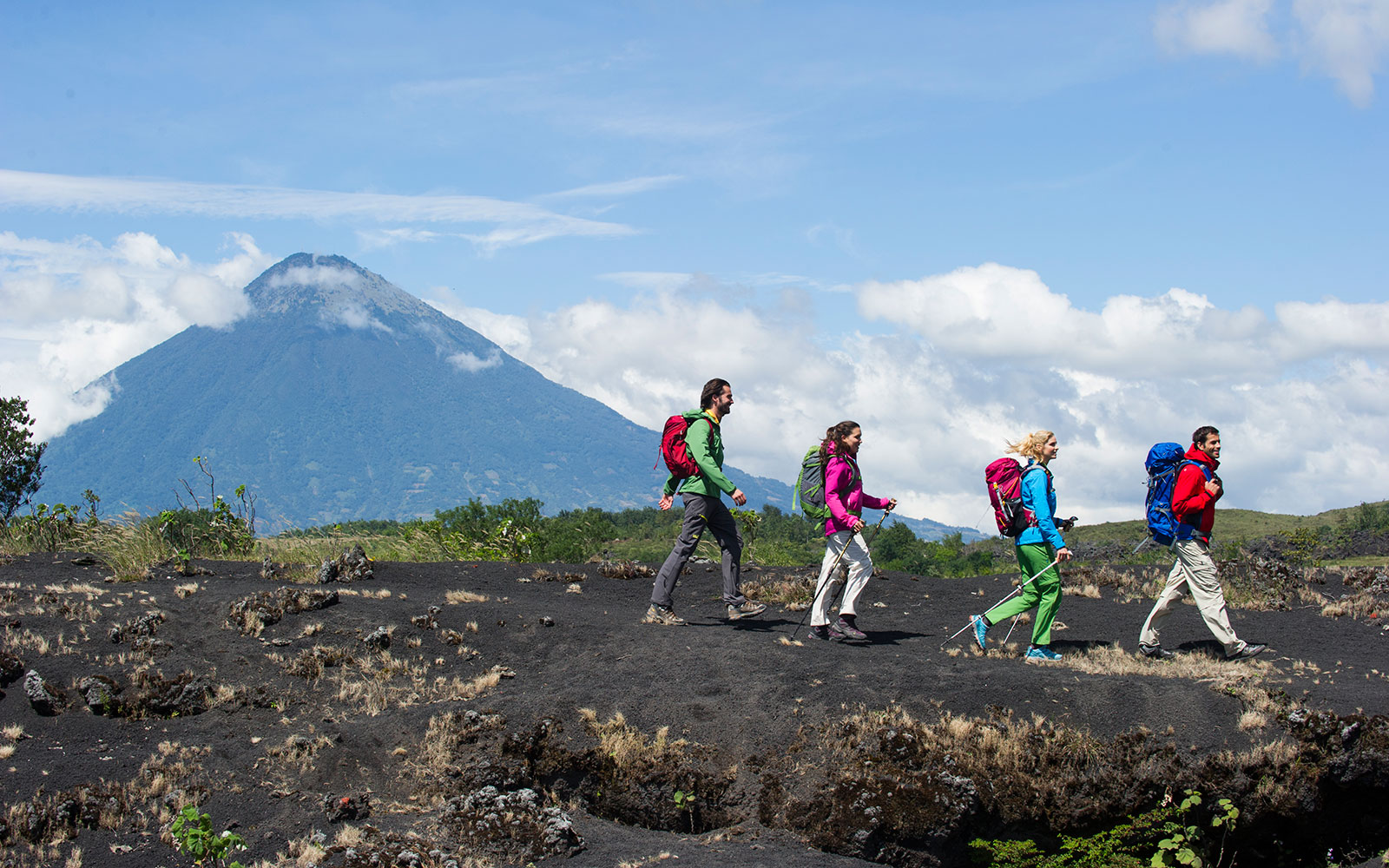 10 Honeymoons for the Adventurous Couple: Hike Guatemala's Active Volcano