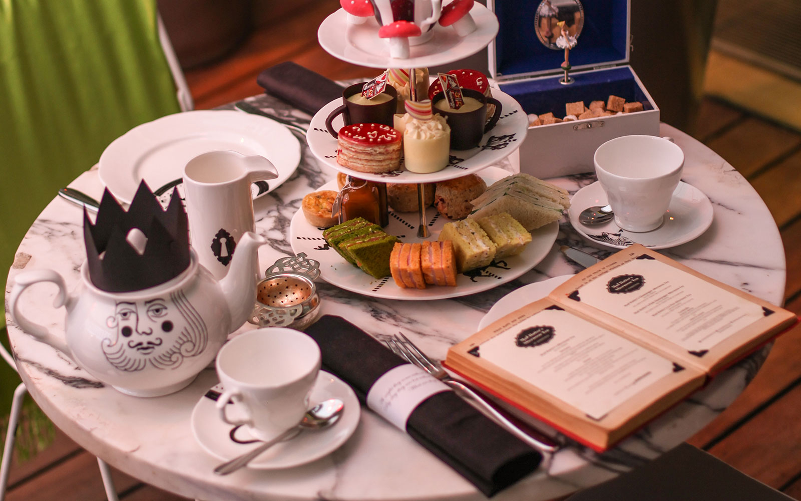 Mad Hatter's Afternoon Tea at the Sanderson Hotel, London