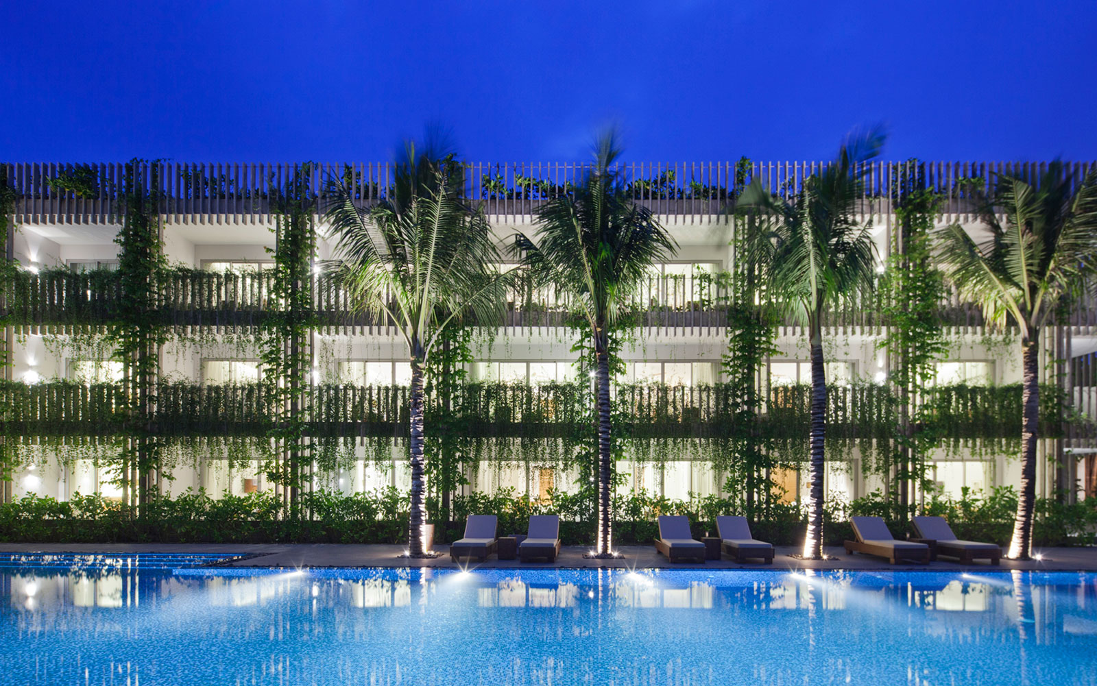 Architects Transformed the Walls of This Resort in Vietnam into a Hanging Jungle: Naman Retreat, Da Nang, Vietnam