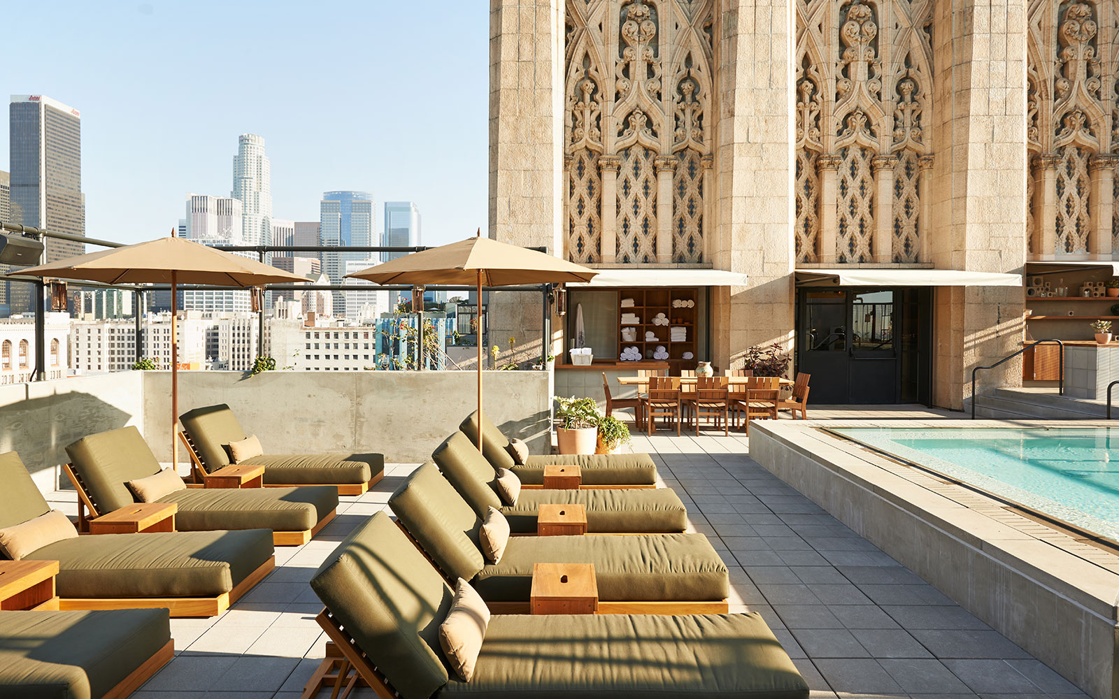 Take a Dip in These Amazing Hotel Pools: No Check-In Required: ACE Hotel Los Angeles