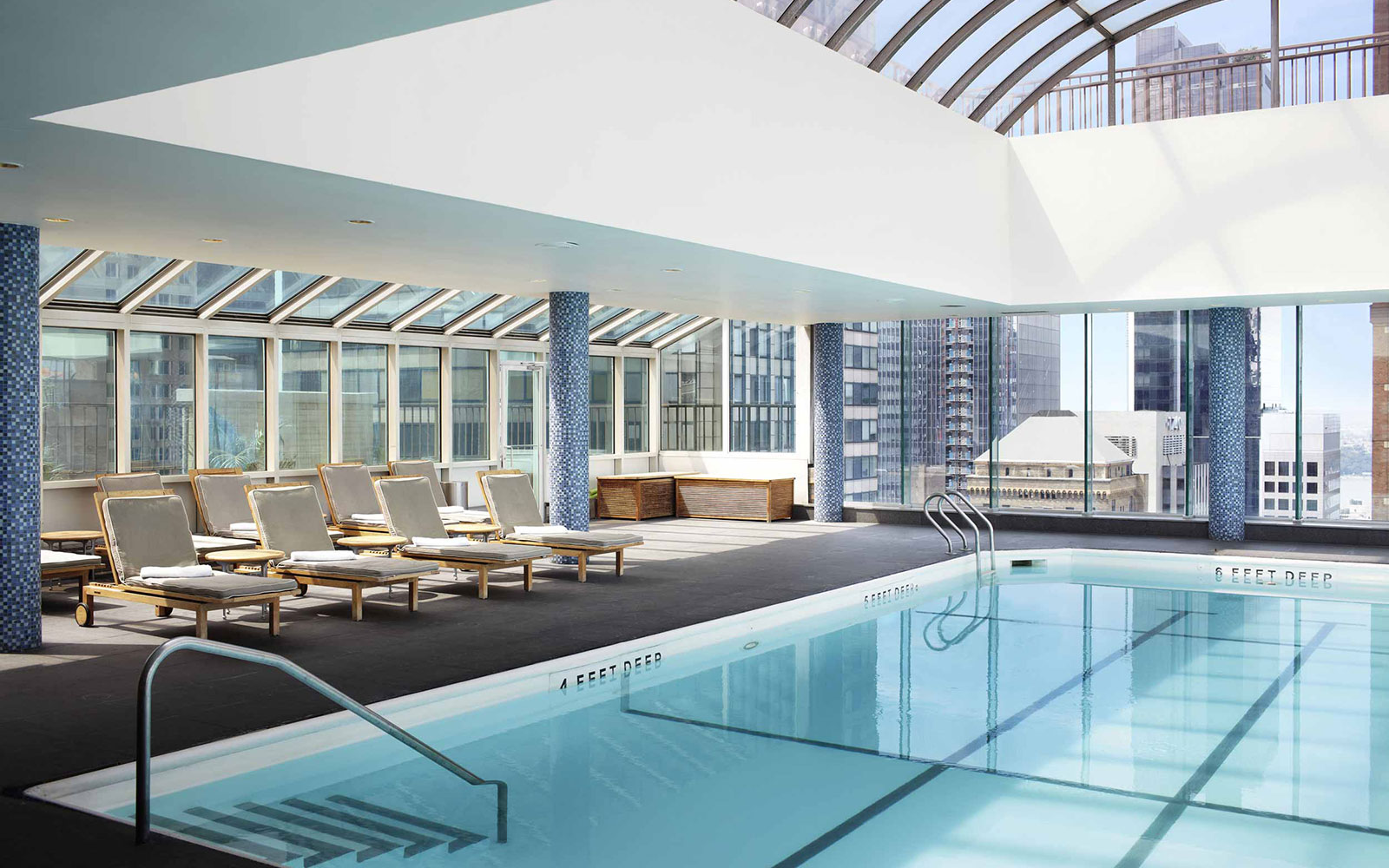 Take a Dip in These Amazing Hotel Pools: No Check-In Required: Le Parker Meridien, NYC