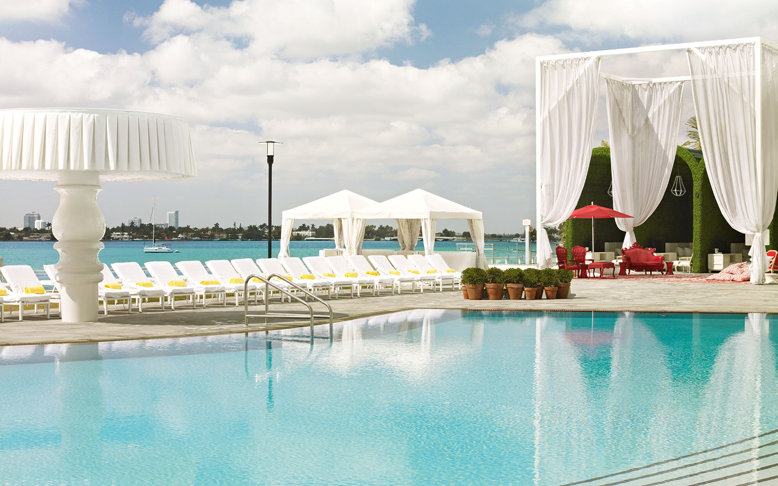 Take a Dip in These Amazing Hotel Pools: No Check-In Required: Mondrian South Beach