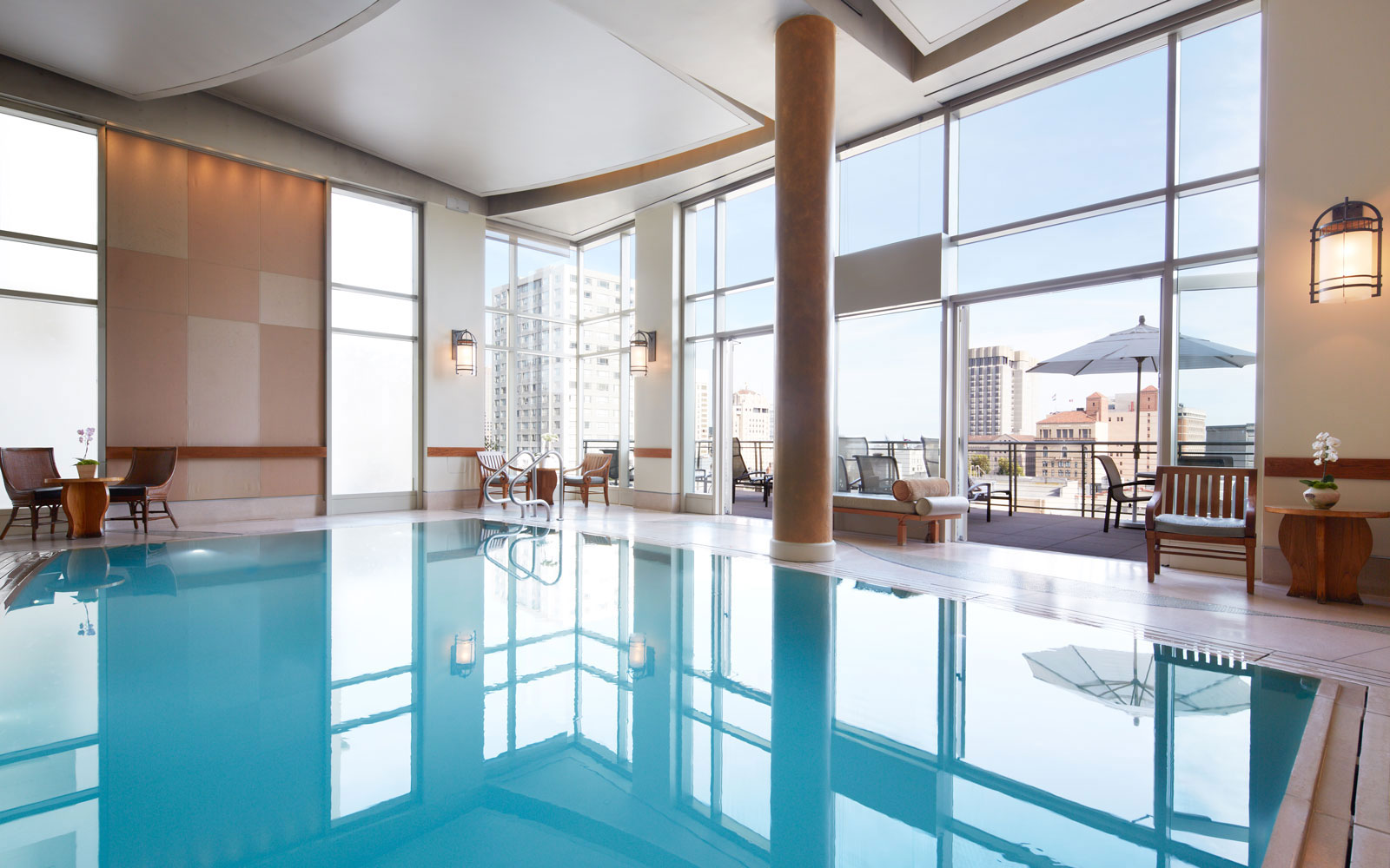 Take a Dip in These Amazing Hotel Pools: No Check-In Required: Scarlet Huntington Hotel, San Francisco
