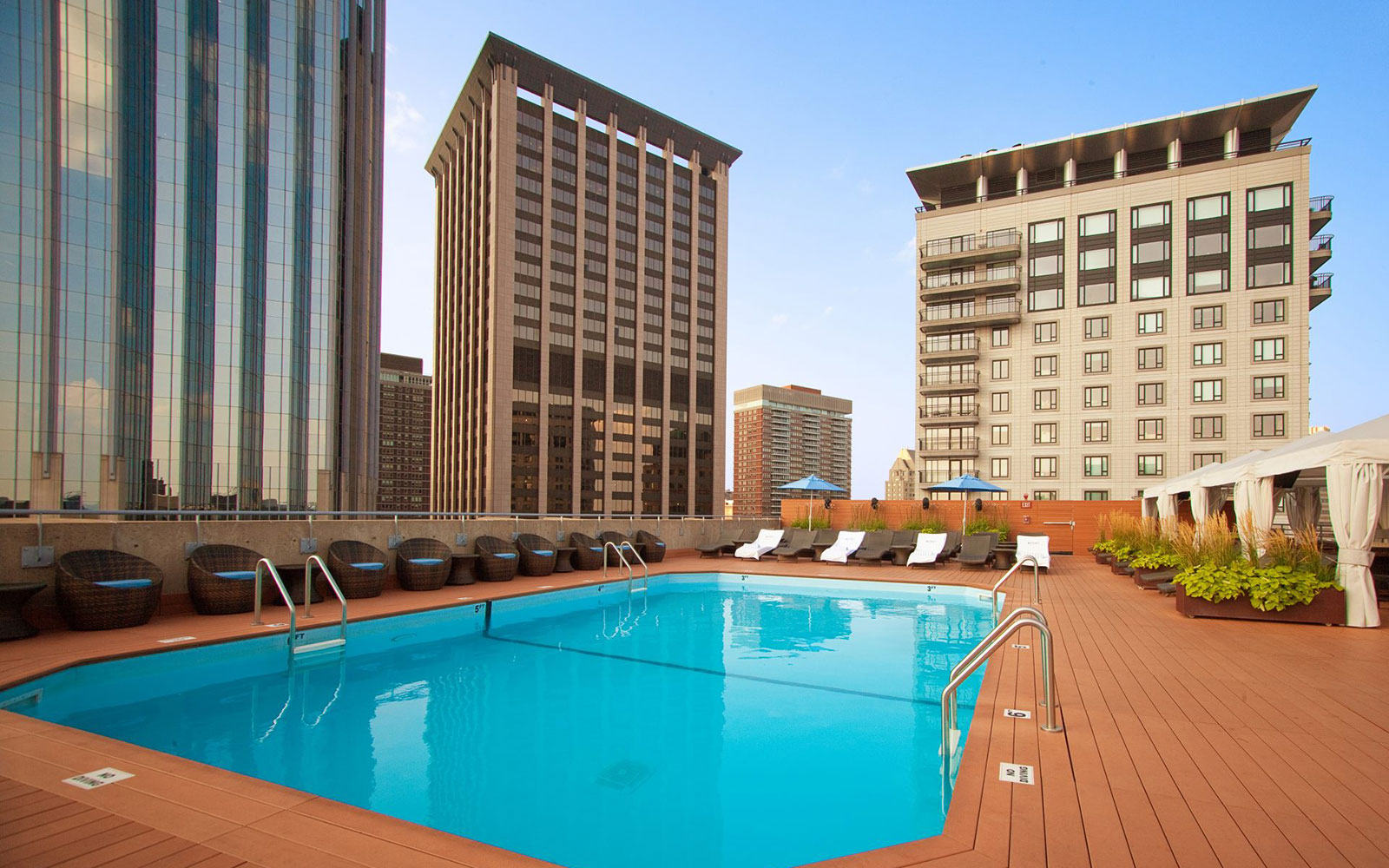 Take a Dip in These Amazing Hotel Pools: No Check-In Required: The Colonnade Hotel, Boston