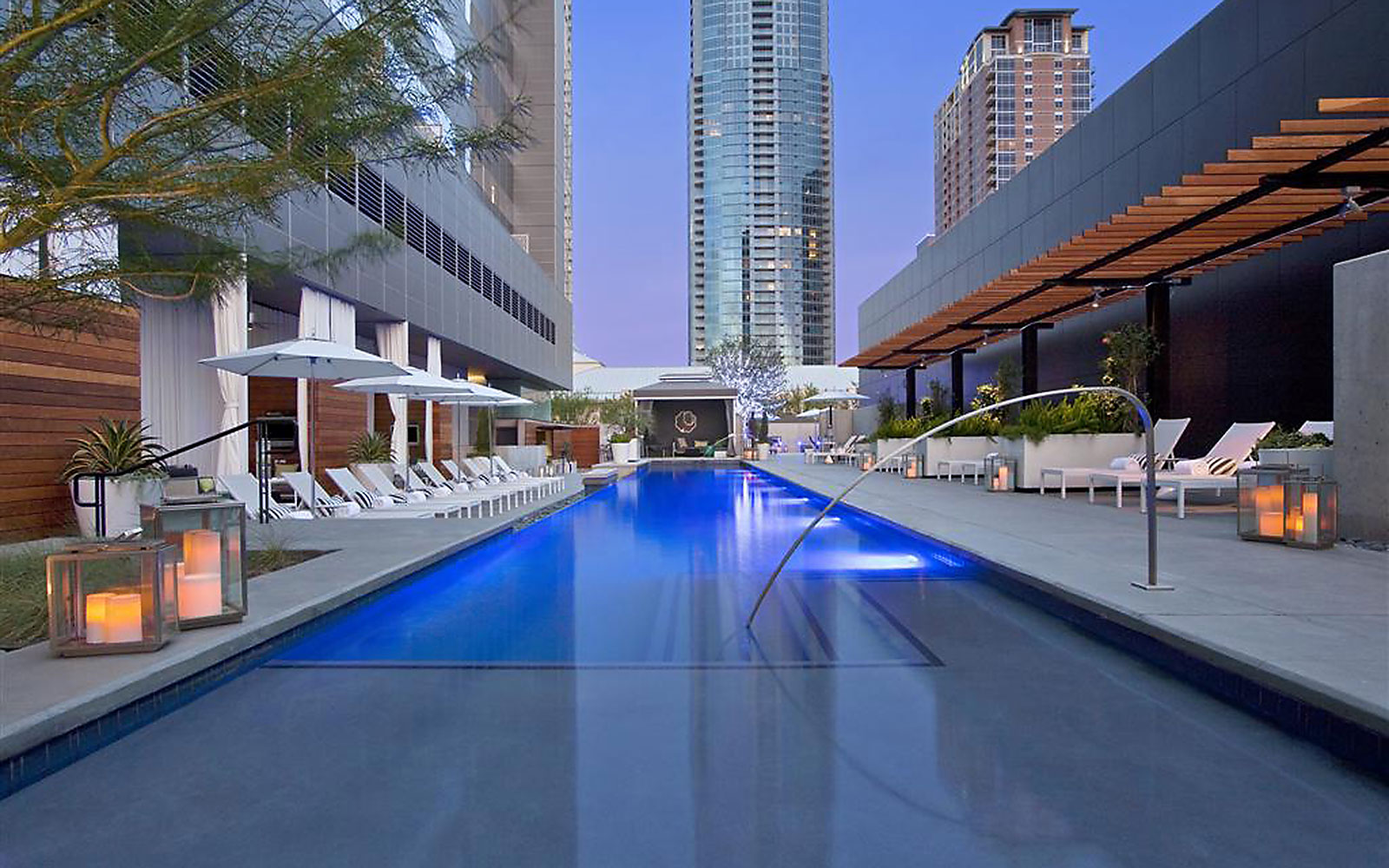 Take a Dip in These Amazing Hotel Pools: No Check-In Required: W Hotel Austin