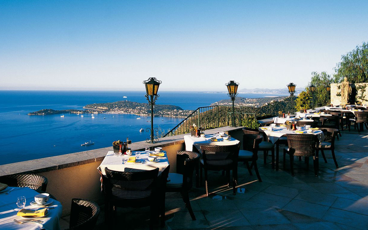 World's Most Amazing Restaurants with a View: La Chèvre d'Or