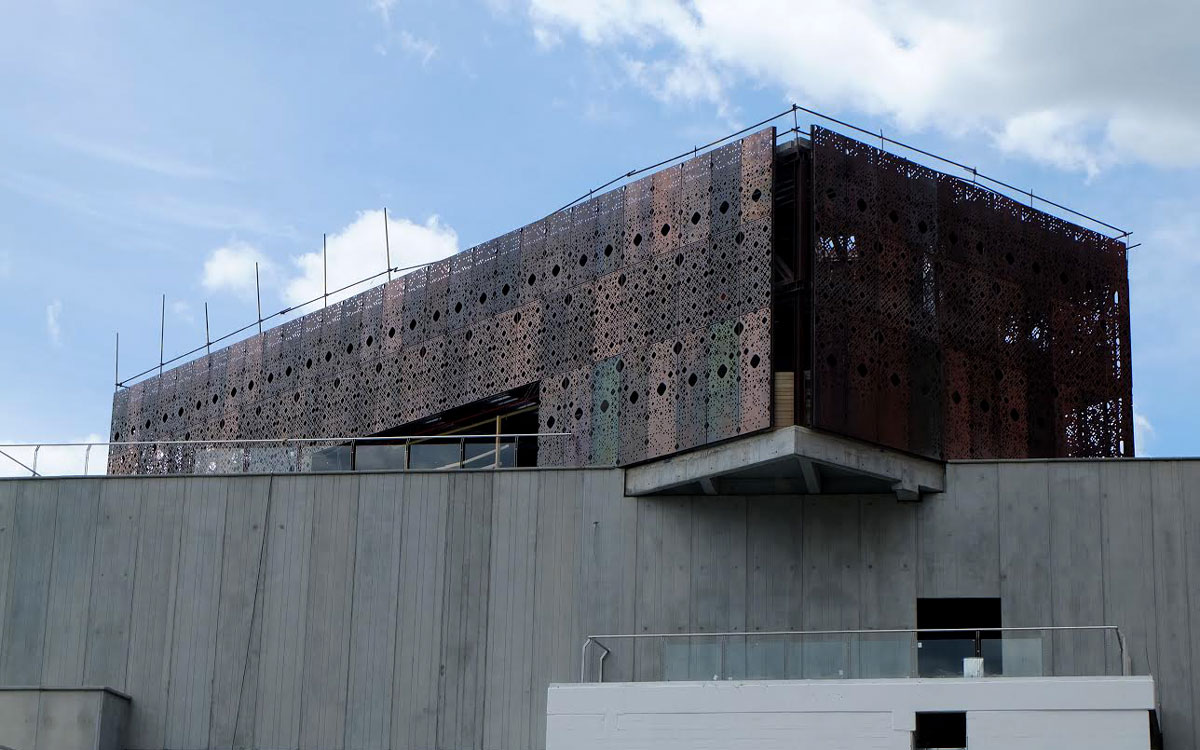 new wing at museum of modern art medellin