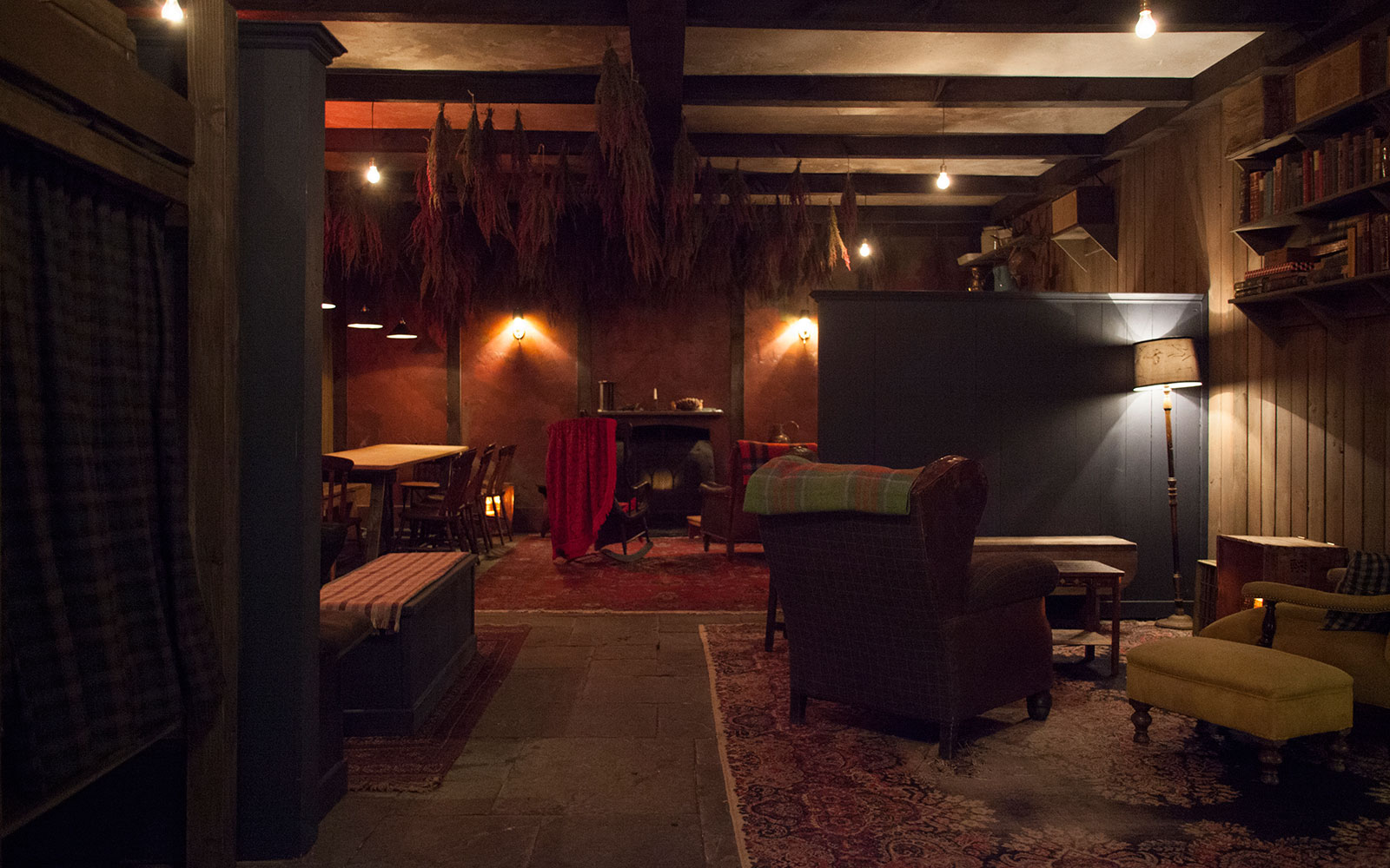 Secret Bars NYC: The Lodge at Gallow Green