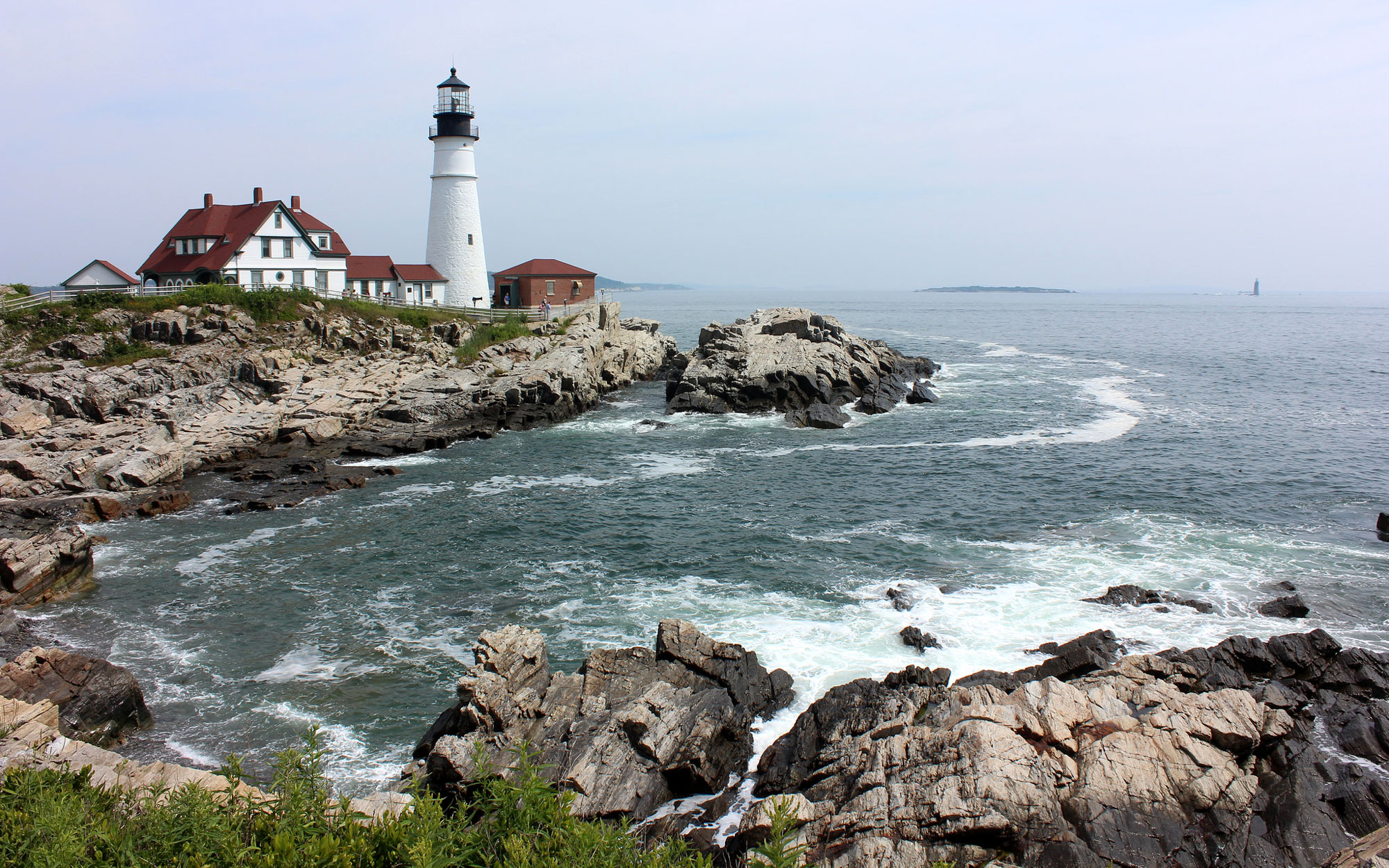 10 a.m.: Portland Head Lighthouse, Cape Elizabeth