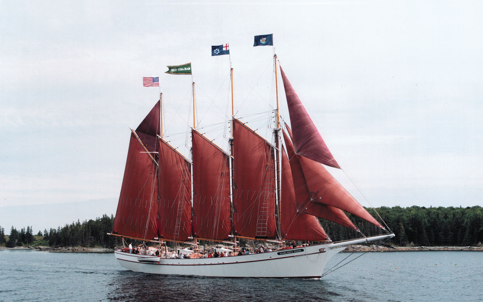 6 p.m.: Downeast Windjammer Sunset Cruise, Bar Harbor