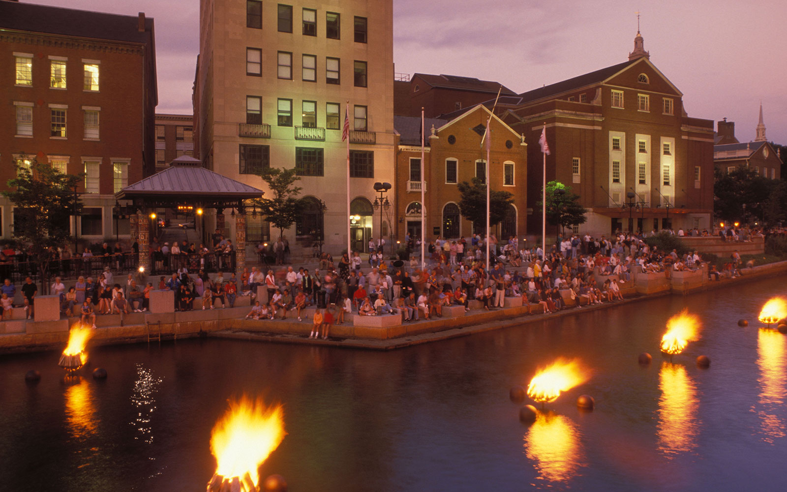 The Best Things to Do, See, and Eat in Providence, Rhode Island: WaterFire Providence