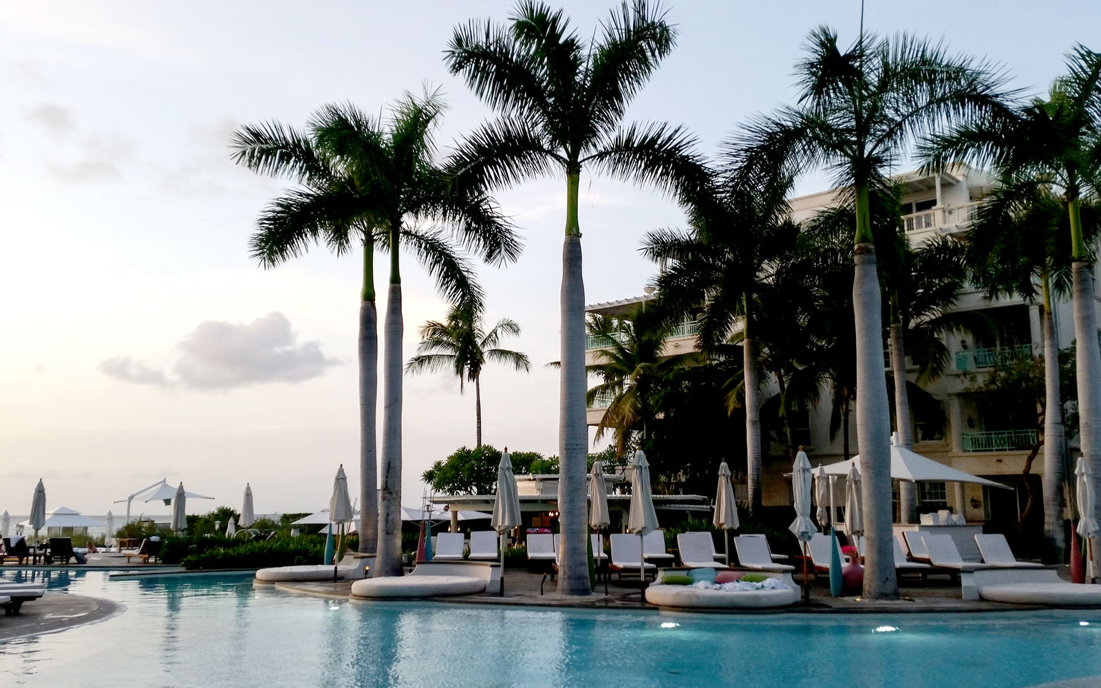Chill Out at the World's Coolest Swim-Up Bars: Regent Palms in Providenciales, Turks & Caicos
