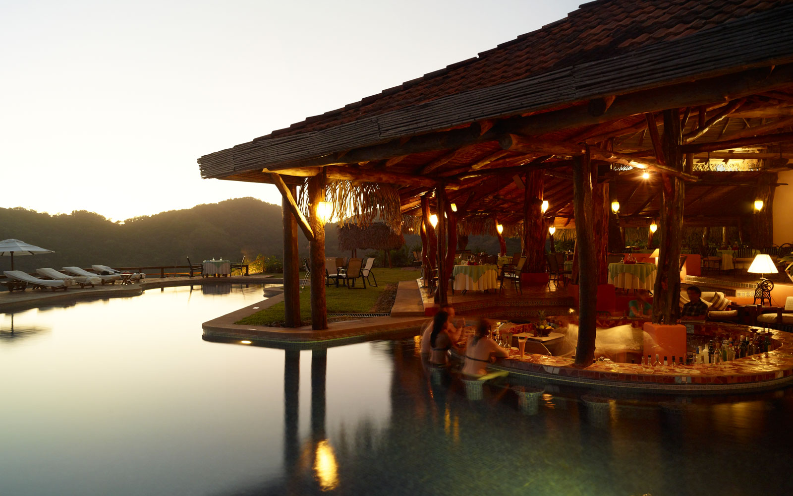 Chill Out at the World's Coolest Swim-Up Bars: Hotel Punta Islita in Playa Samara, Costa Rica