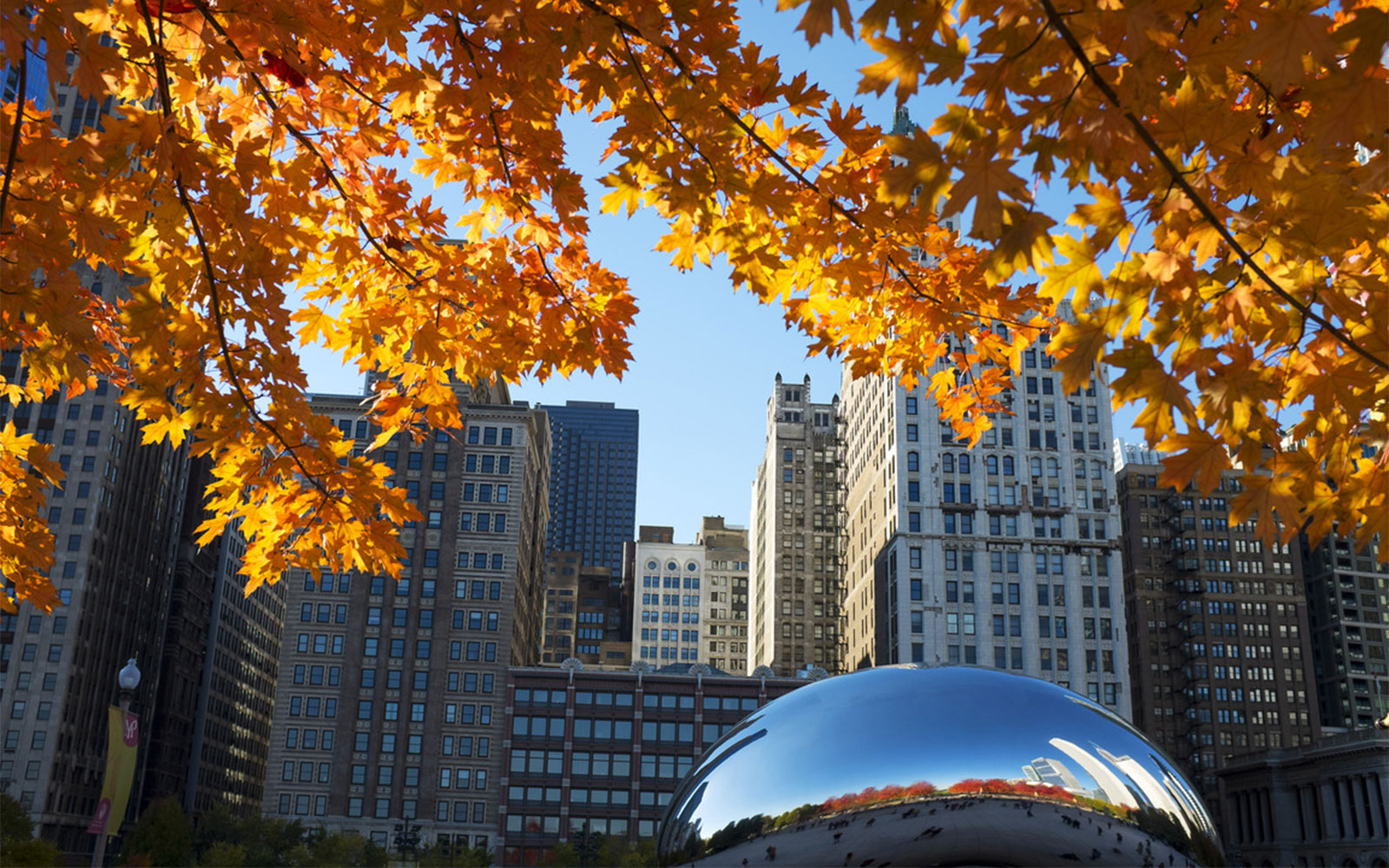 America's Best Cities for Fall Travel: Chicago, IL