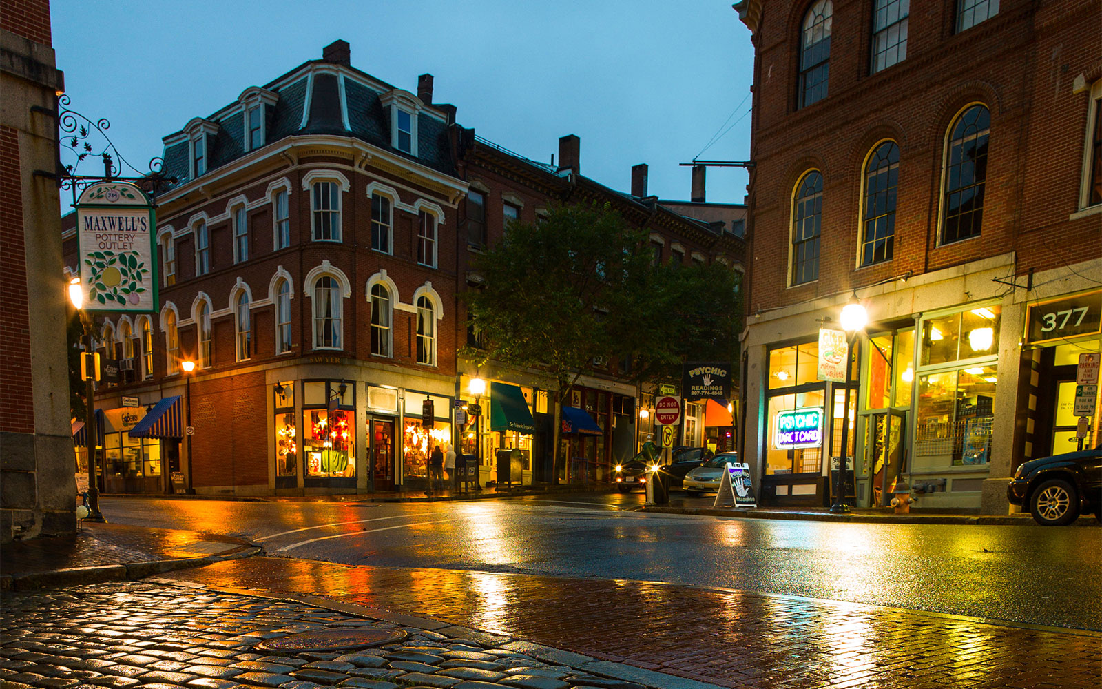 America's Best Cities for Fall Travel: Portland, ME