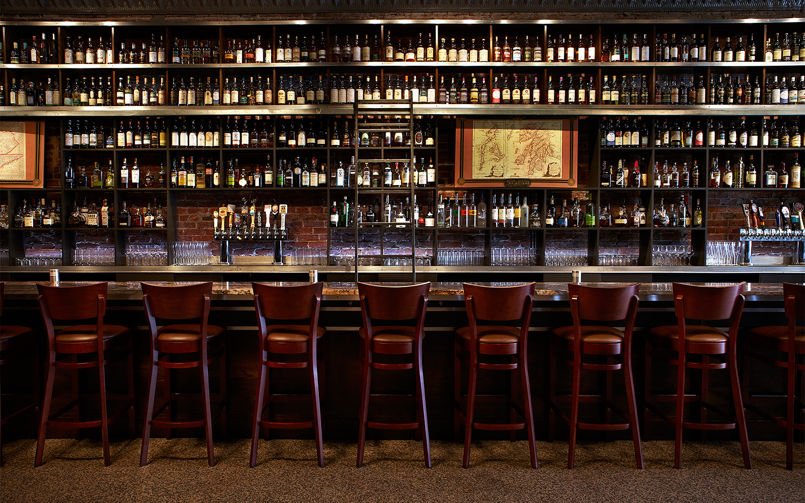 Best Whiskey Bars in America: Jack Rose Dining Saloon, Washington, D.C.
