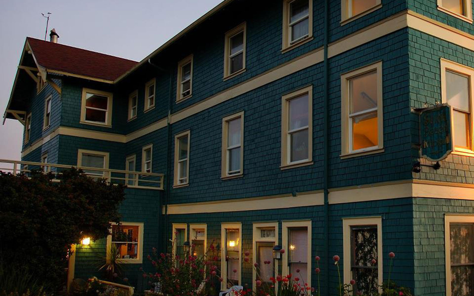Sylvia Beach Hotel, Newport, Oregon