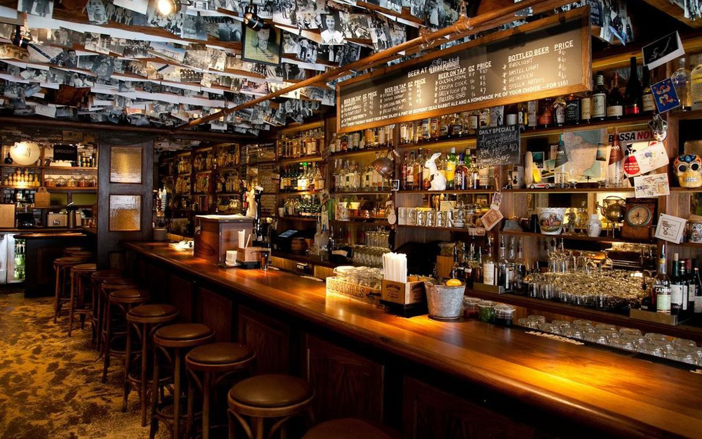The Dead Rabbit Grocery & Grog Bar in NYC