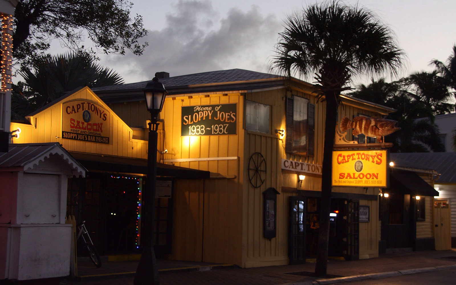 America's Most Haunted Bars and Restaurants: Captain Tony's Saloon, Key West, FL