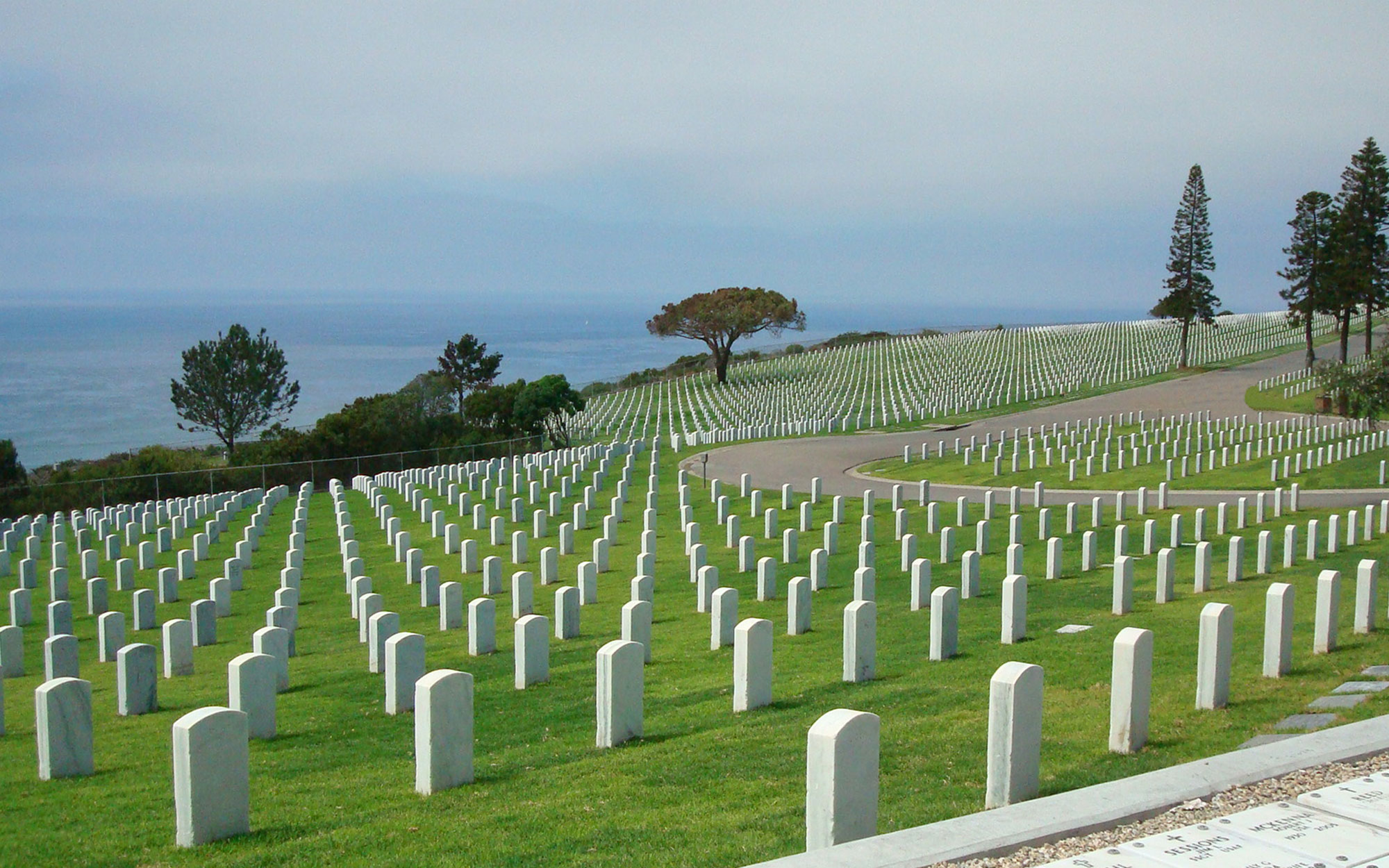 World's Most Beautiful Cemeteries: Fort Rosecrans National Cemetery, San Diego