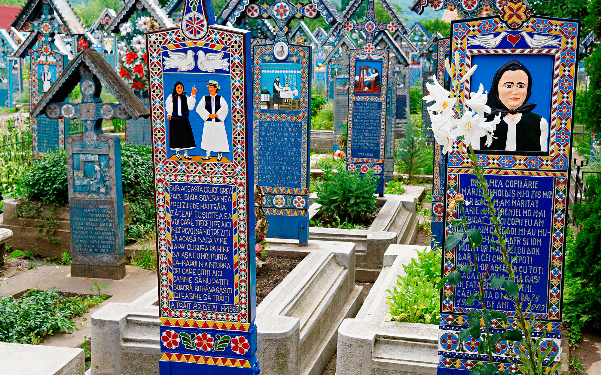 World's Most Beautiful Cemeteries: Merry Cemetery, Romania