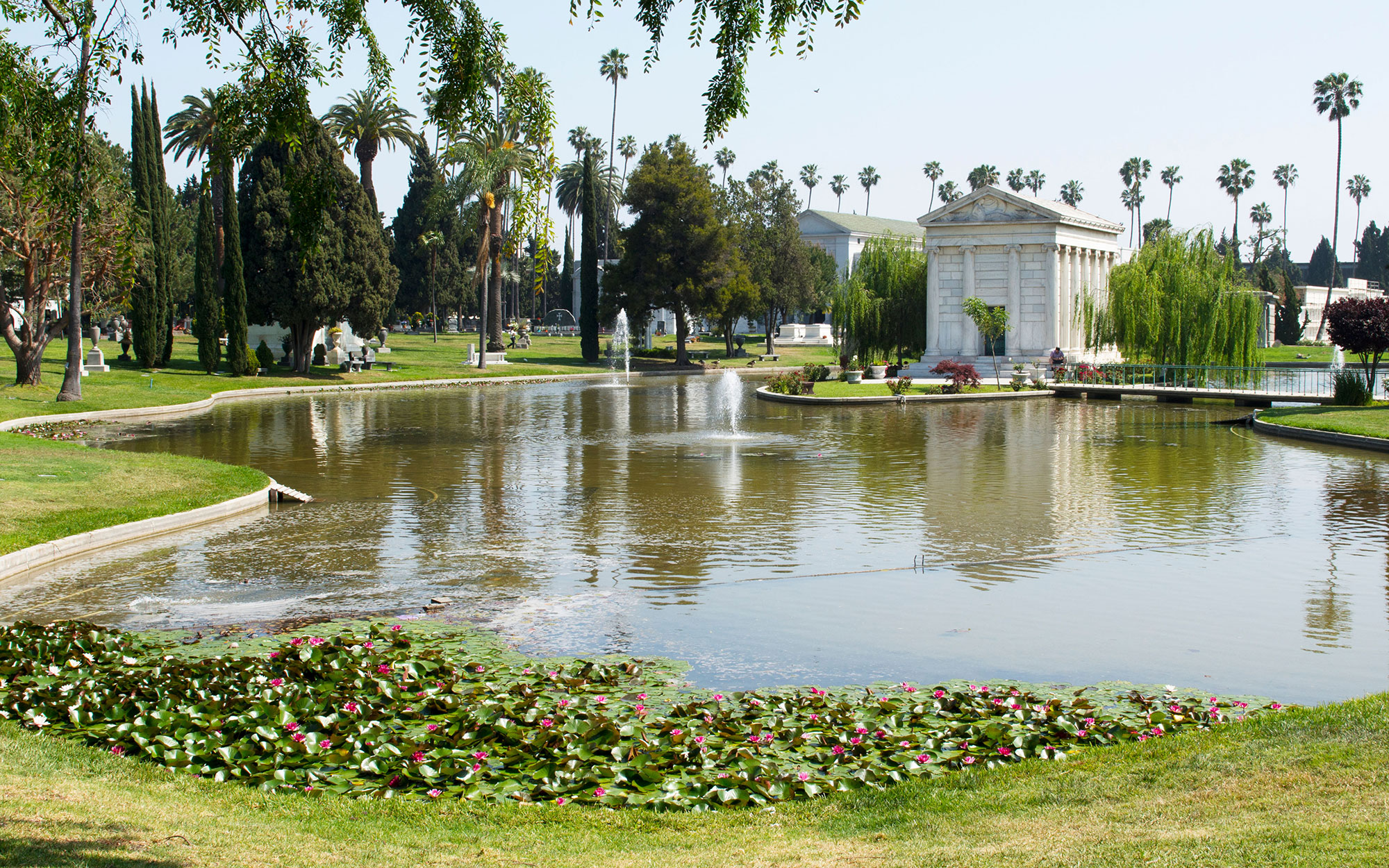 World's Most Beautiful Cemeteries: Hollywood Forever Cemetery, Hollywood, CA