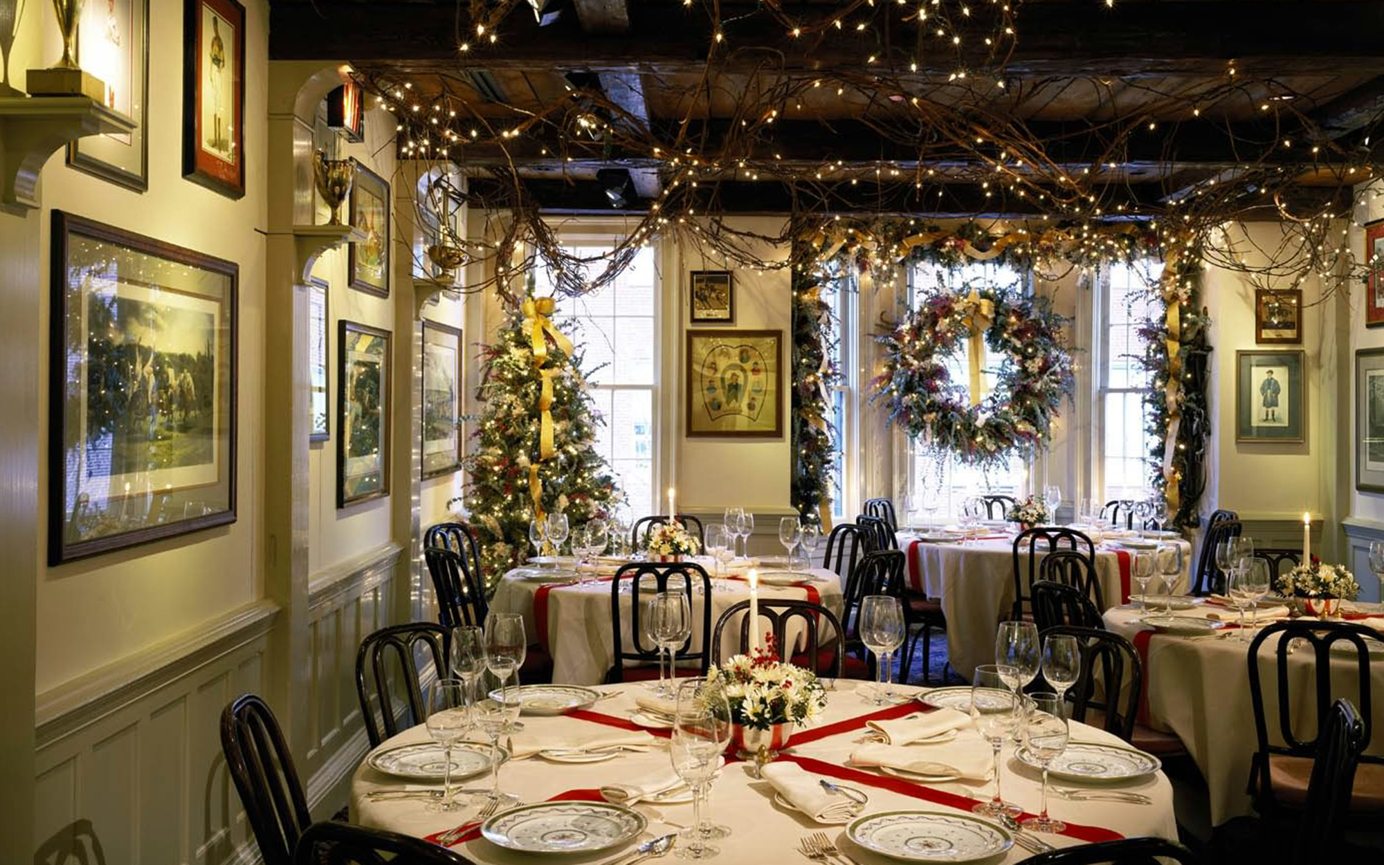 Best Holiday Restaurants in the U.S.: 1789, Washington, D.C.