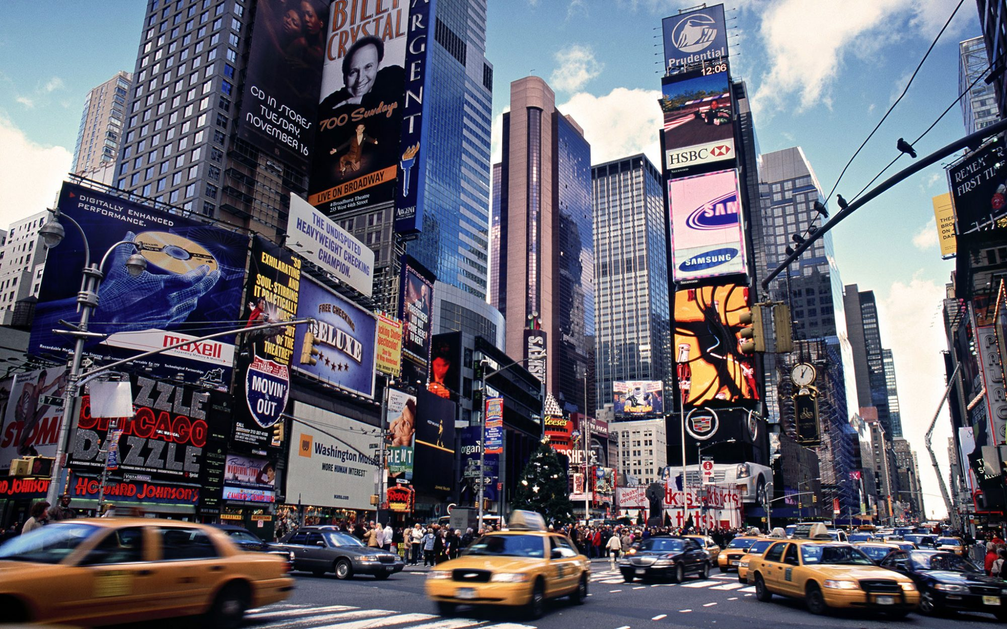 America's Most-Visited Attractions: Times Square