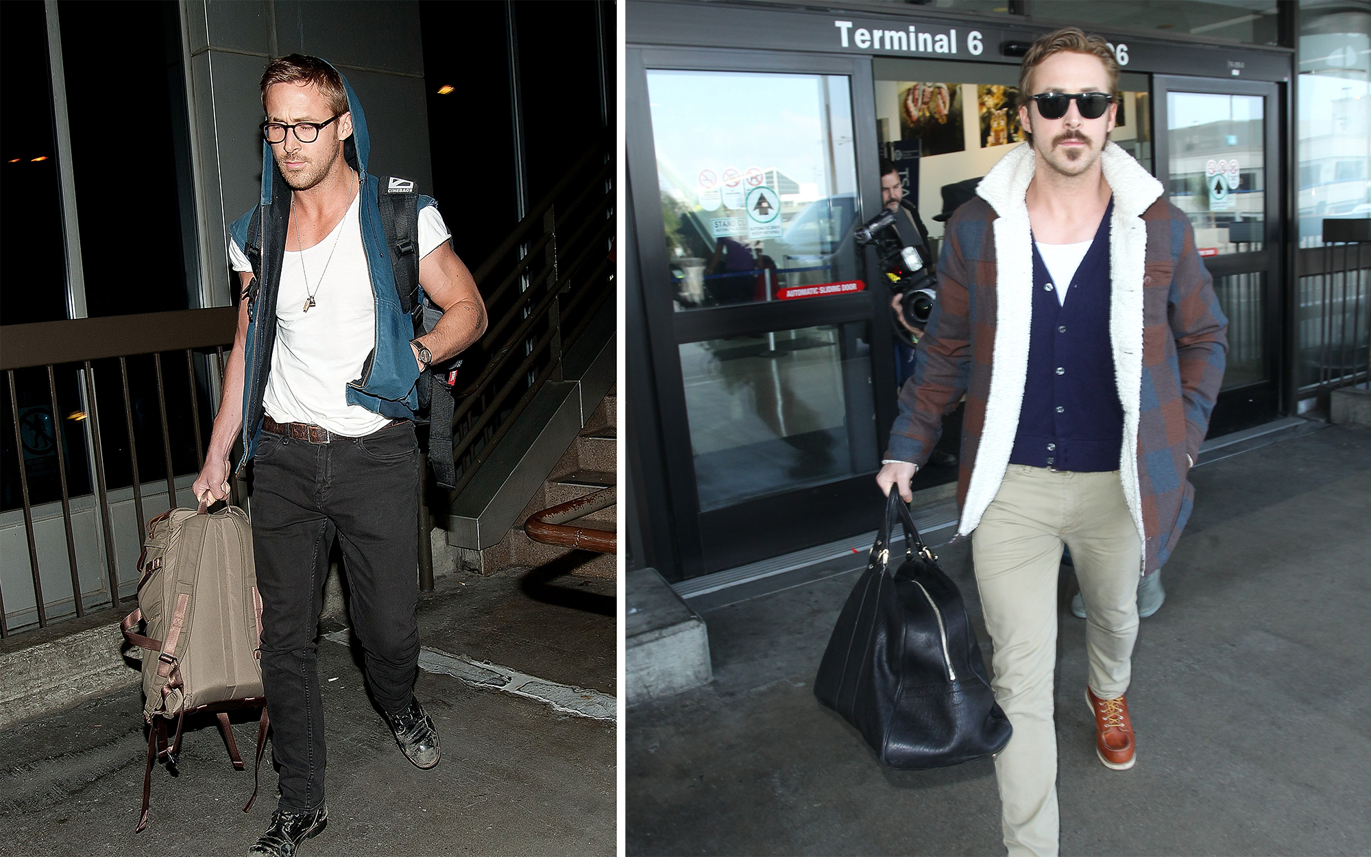 Celebrity Airport Style: Ryan Gosling
