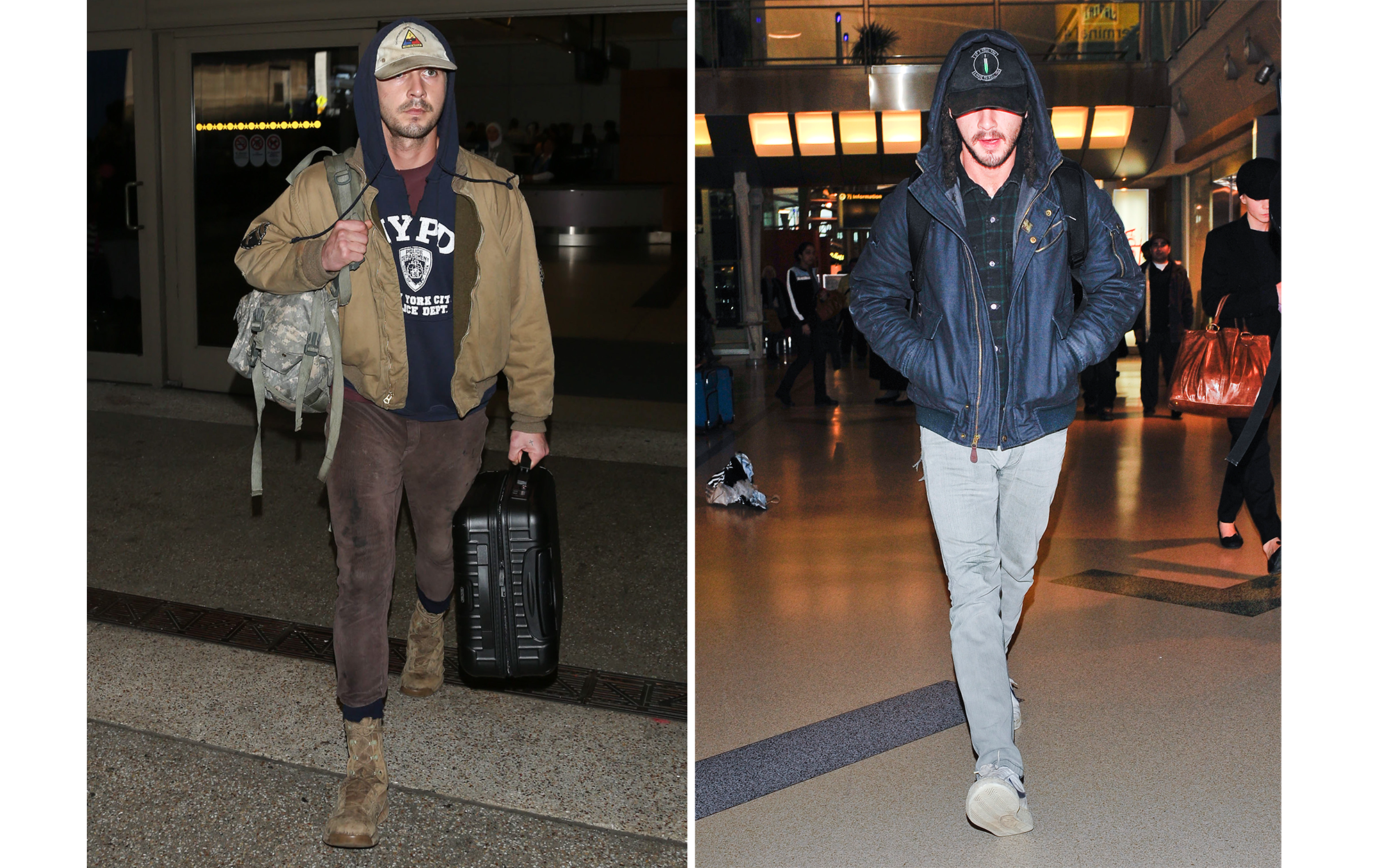 Celebrity Airport Style: Shia LaBoeuf