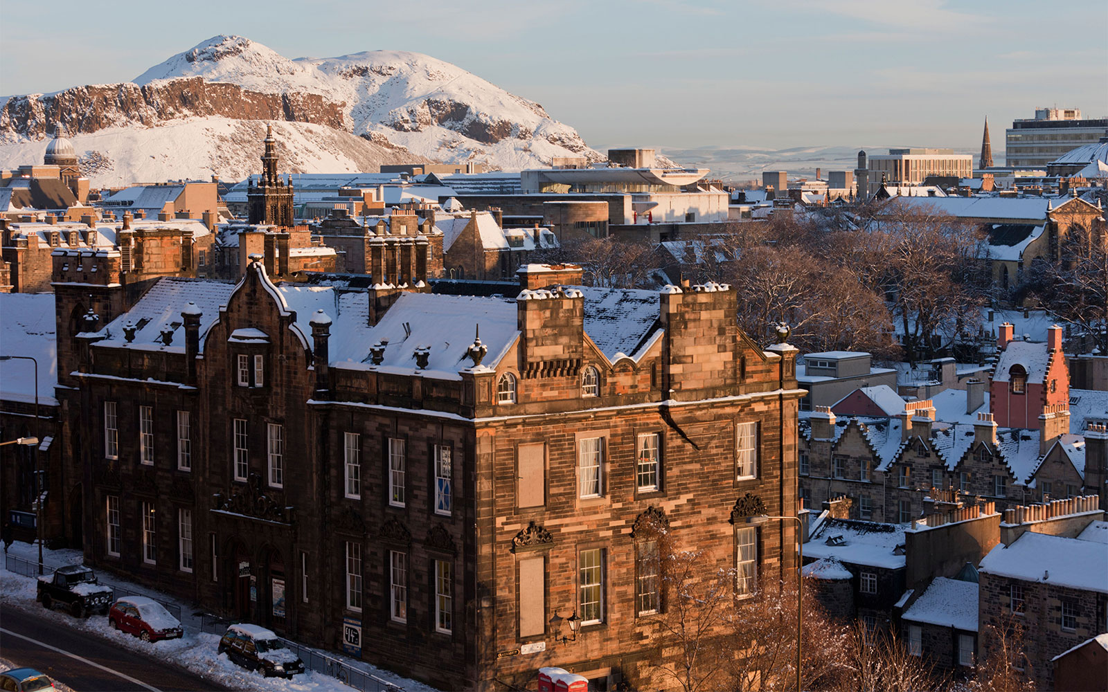 Best Places to Spend Christmas: Edinburgh