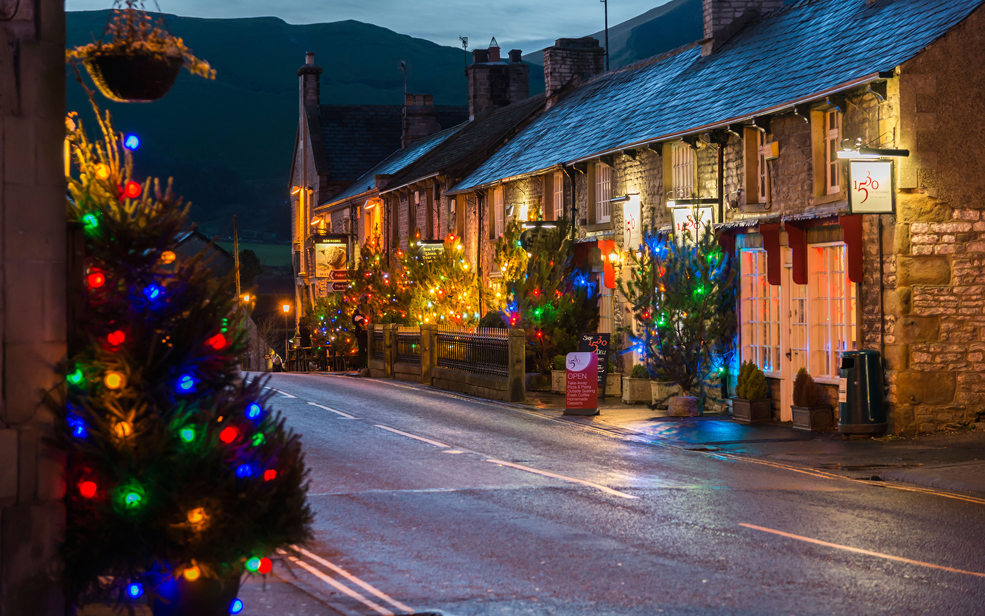 Best Places to Spend Christmas: Castleton, England
