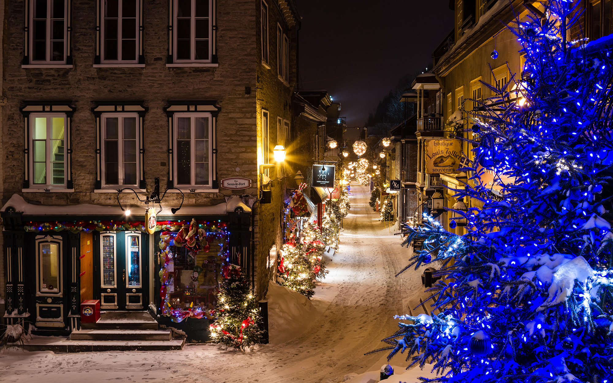Best Places to Spend Christmas: Quebec City, Canada