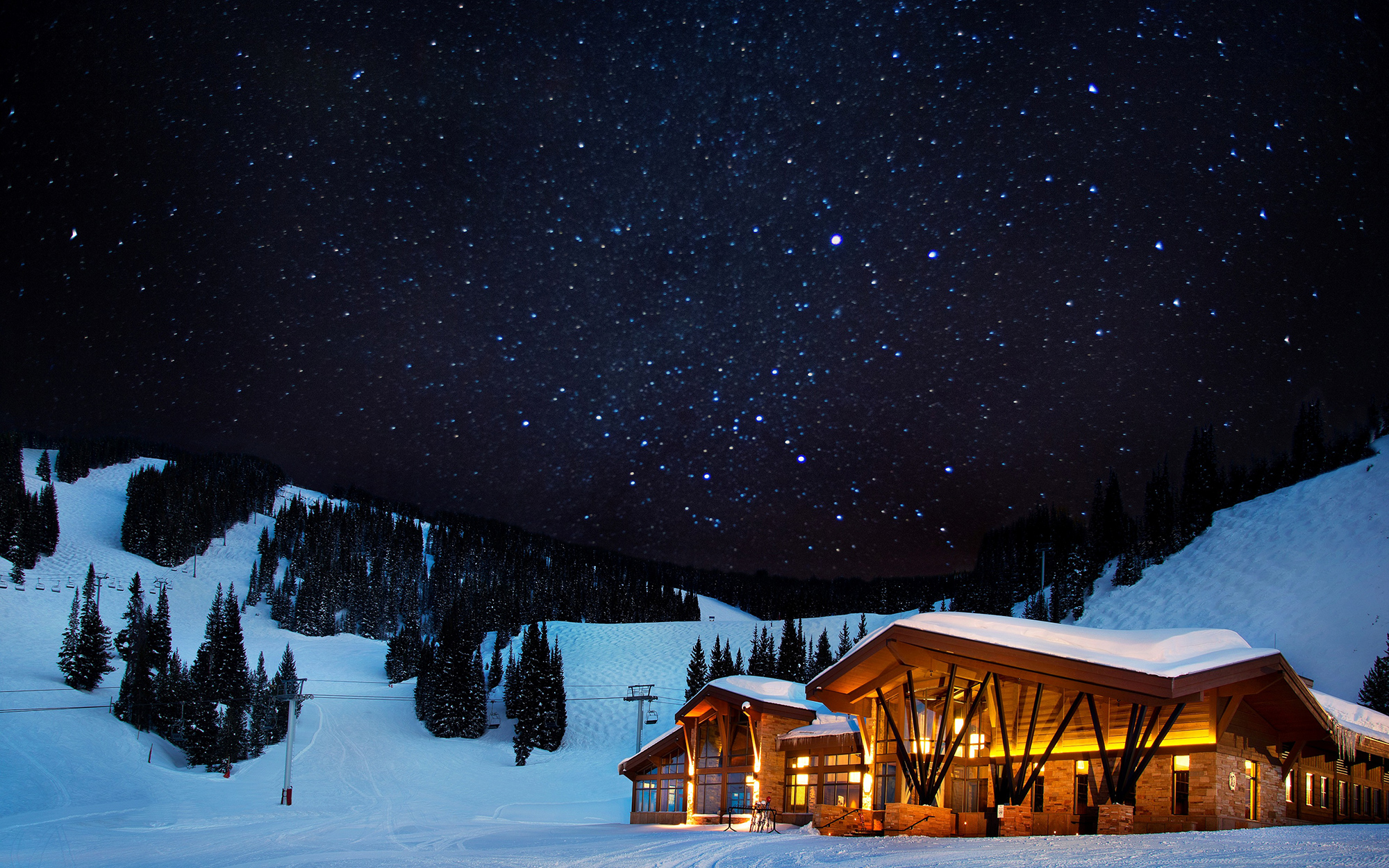 Best Holiday Restaurants in the U.S.: Game Creek Restaurant, Vail, CO