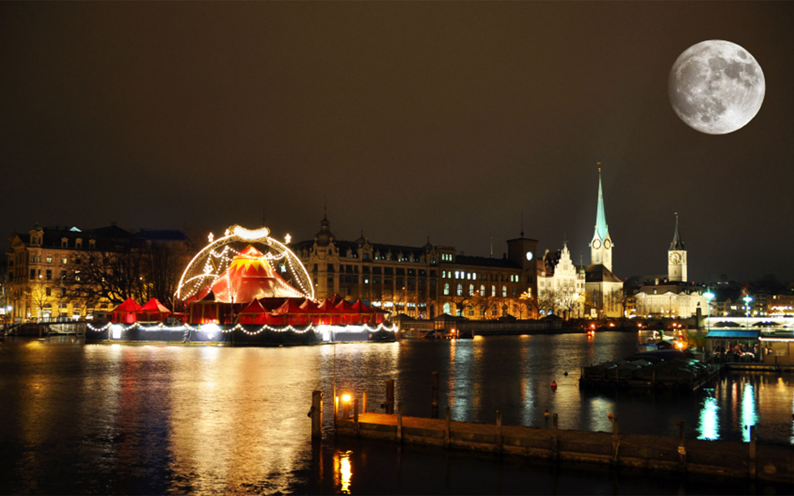 Best Places to Spend Christmas: Zurich
