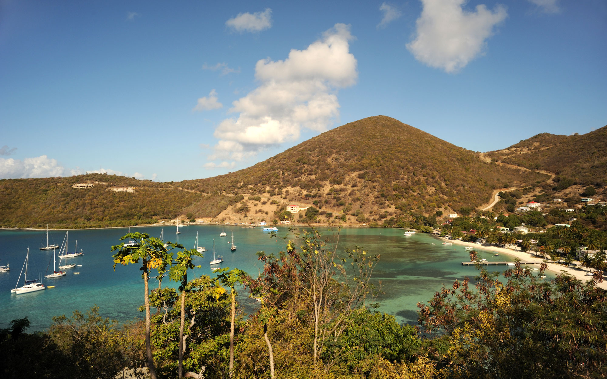 The World's Best Island Beaches:  No. 12 Jost Van Dyke, BVI
