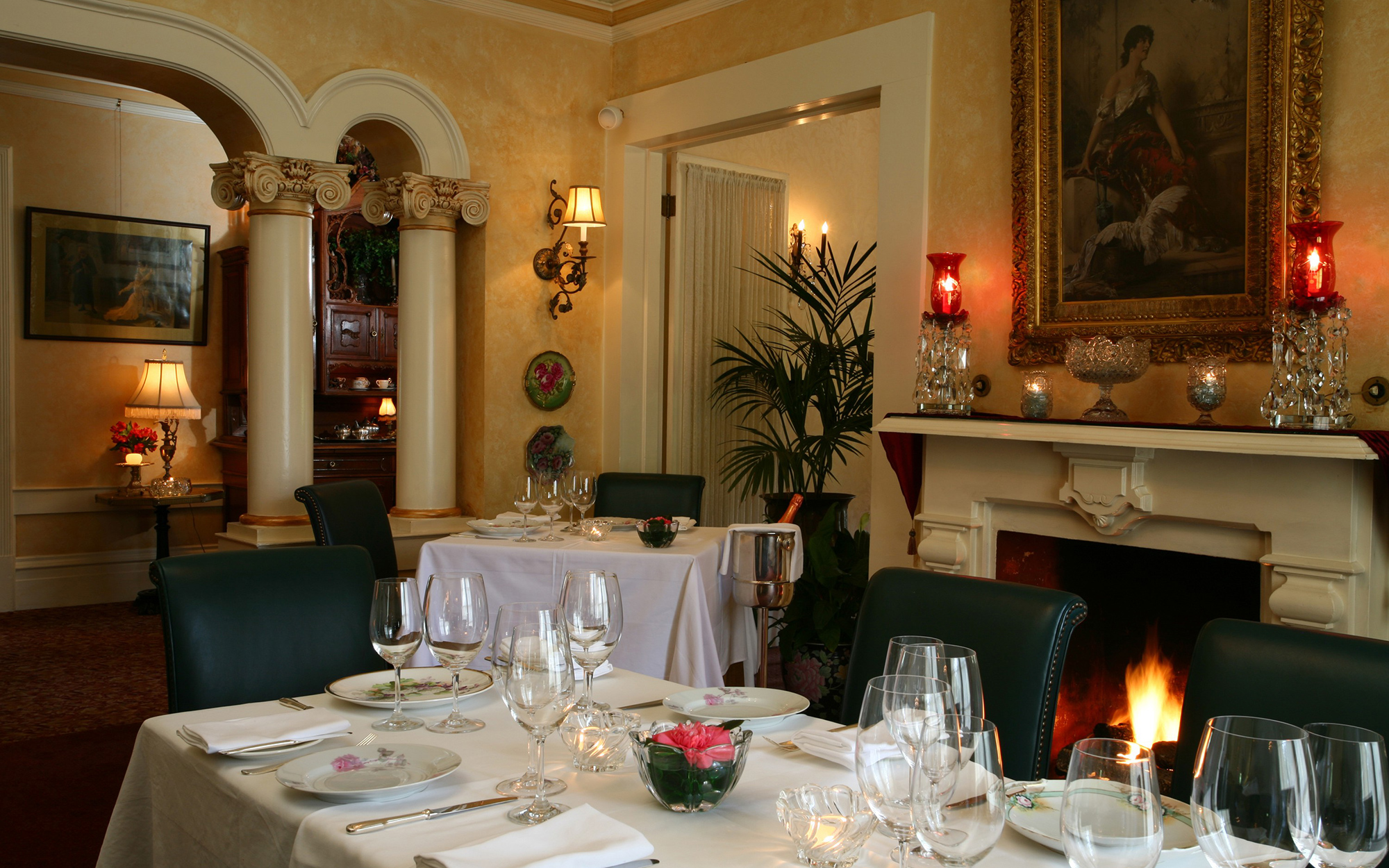 Best Holiday Restaurants in the U.S.: Madrona Manor, Healdsburg, CA