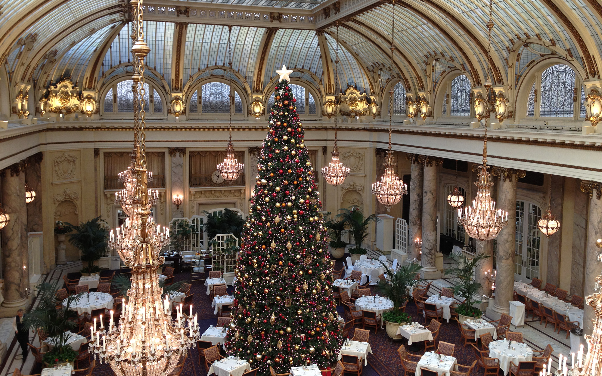 Best Holiday Restaurants in the U.S.: Palace Hotel, San Francisco