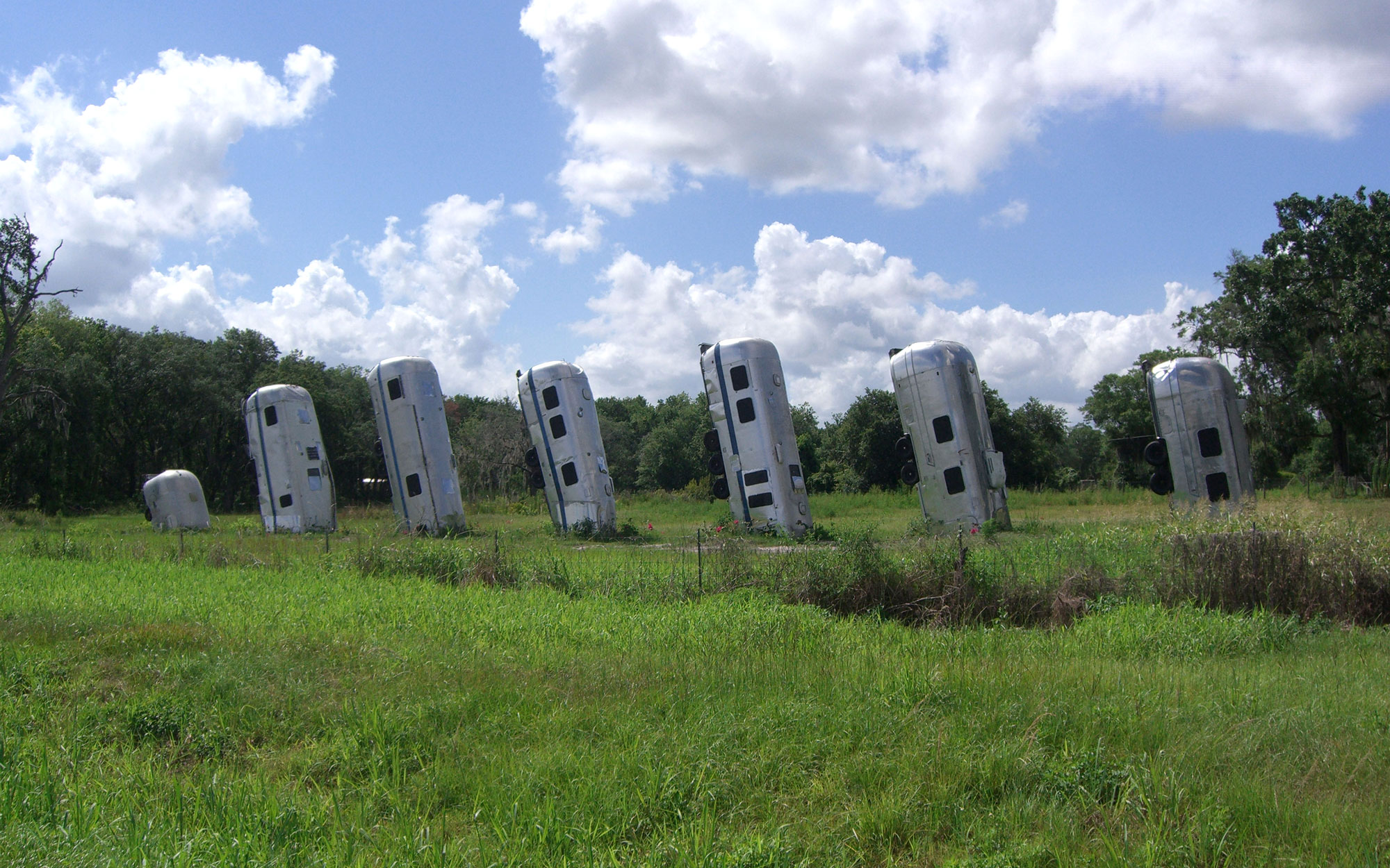 Weirdest Roadside Attractions: Florida: Airstream Ranch
