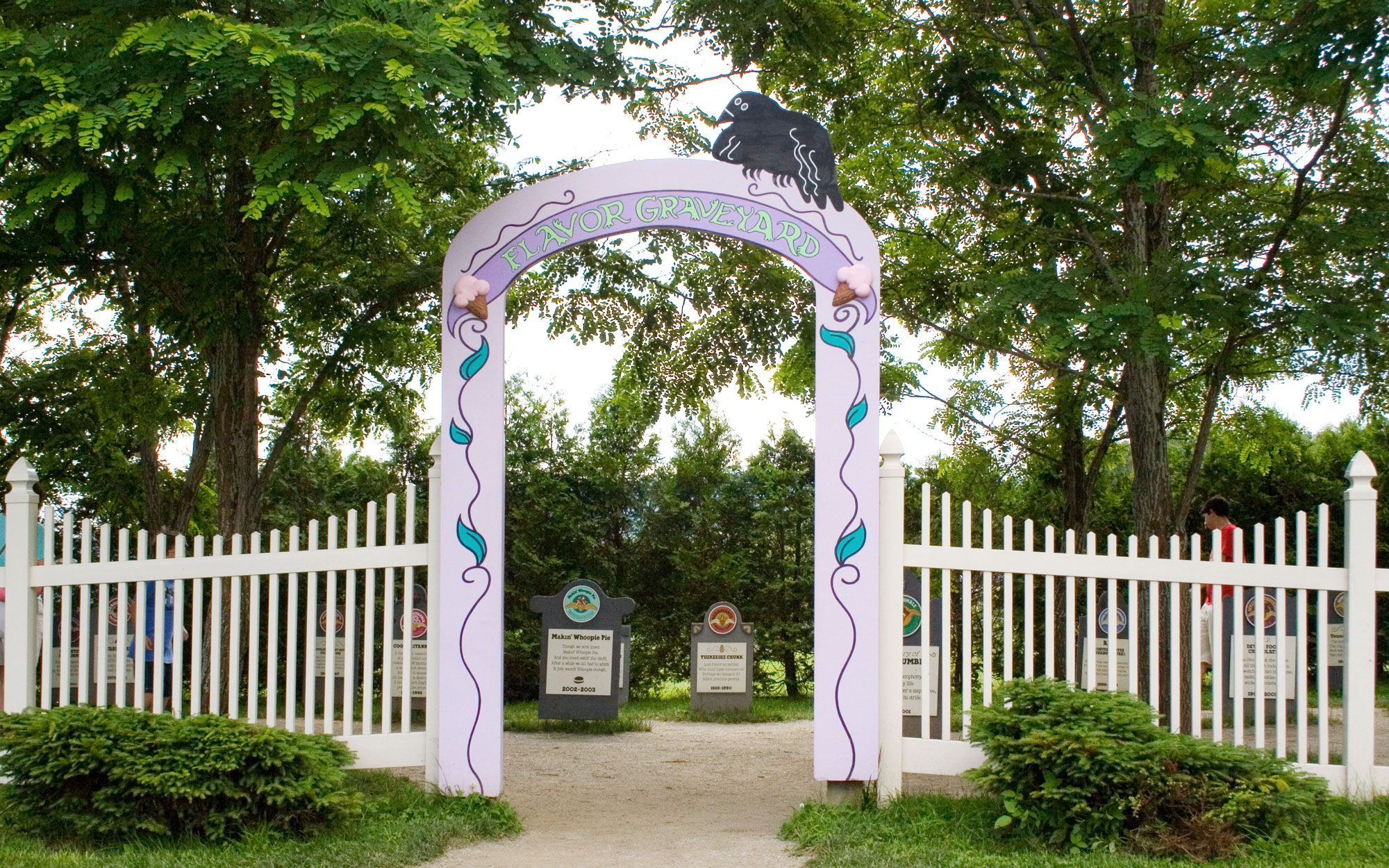Weirdest Roadside Attractions: Vermont: Ben and Jerry's Flavor Graveyard