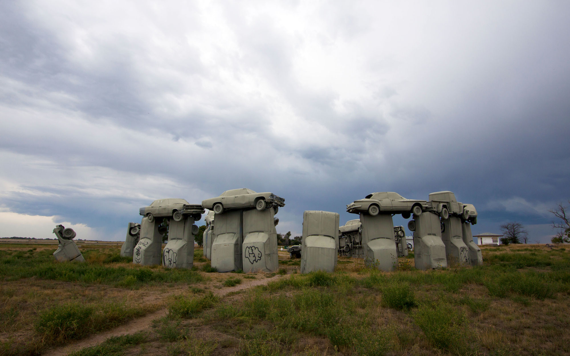 Weirdest Roadside Attractions: Nebraska: Carhenge