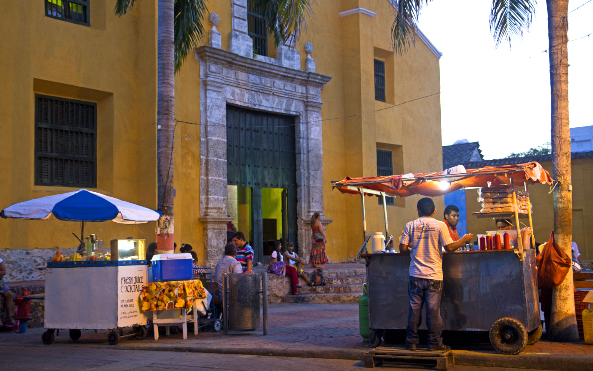 The World's Eleven Best Street Food Cities: Cartagena